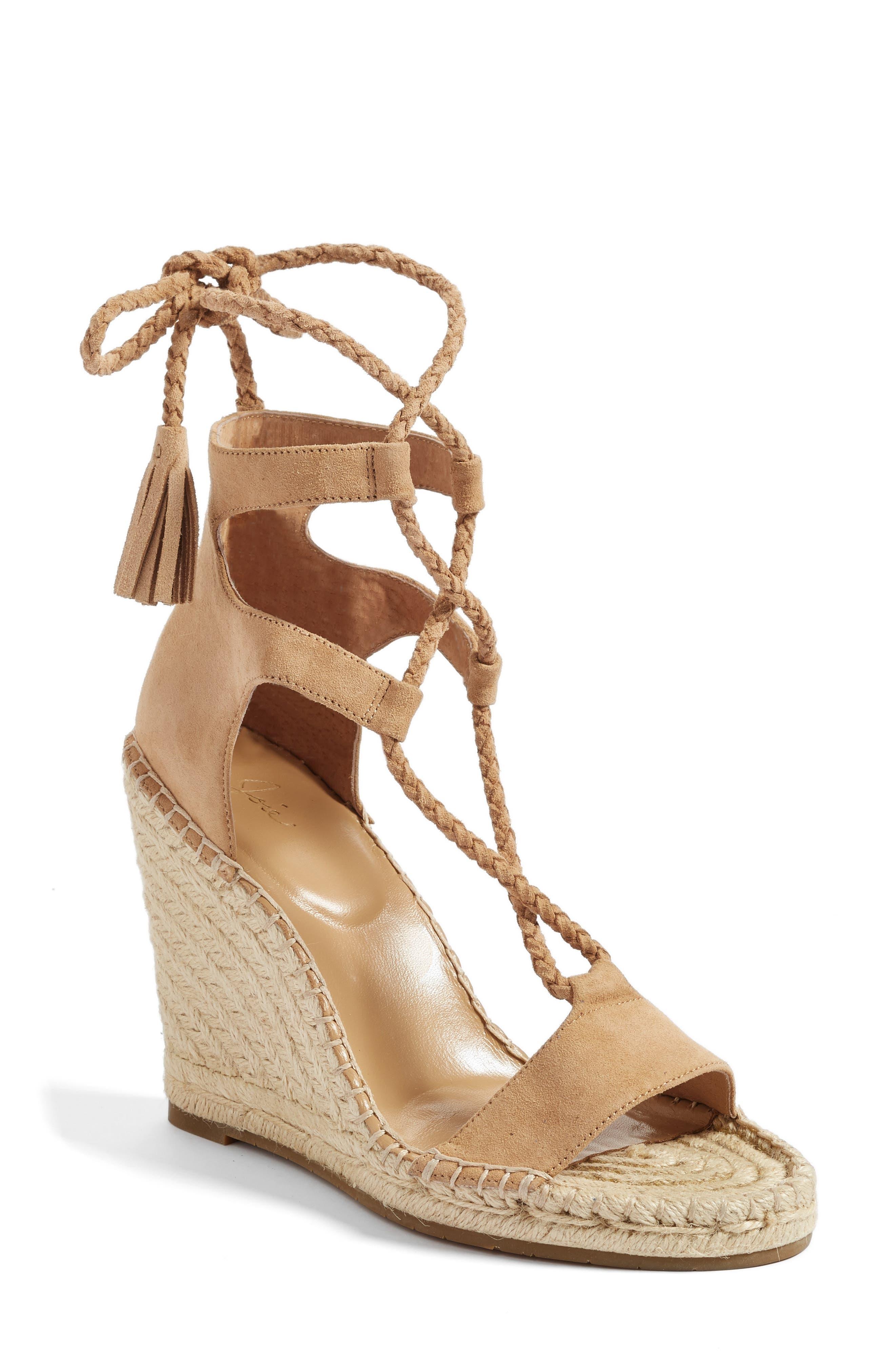 Alternate Image 1 Selected - Joie Delilah Espadrille Wedge Sandal (Women)