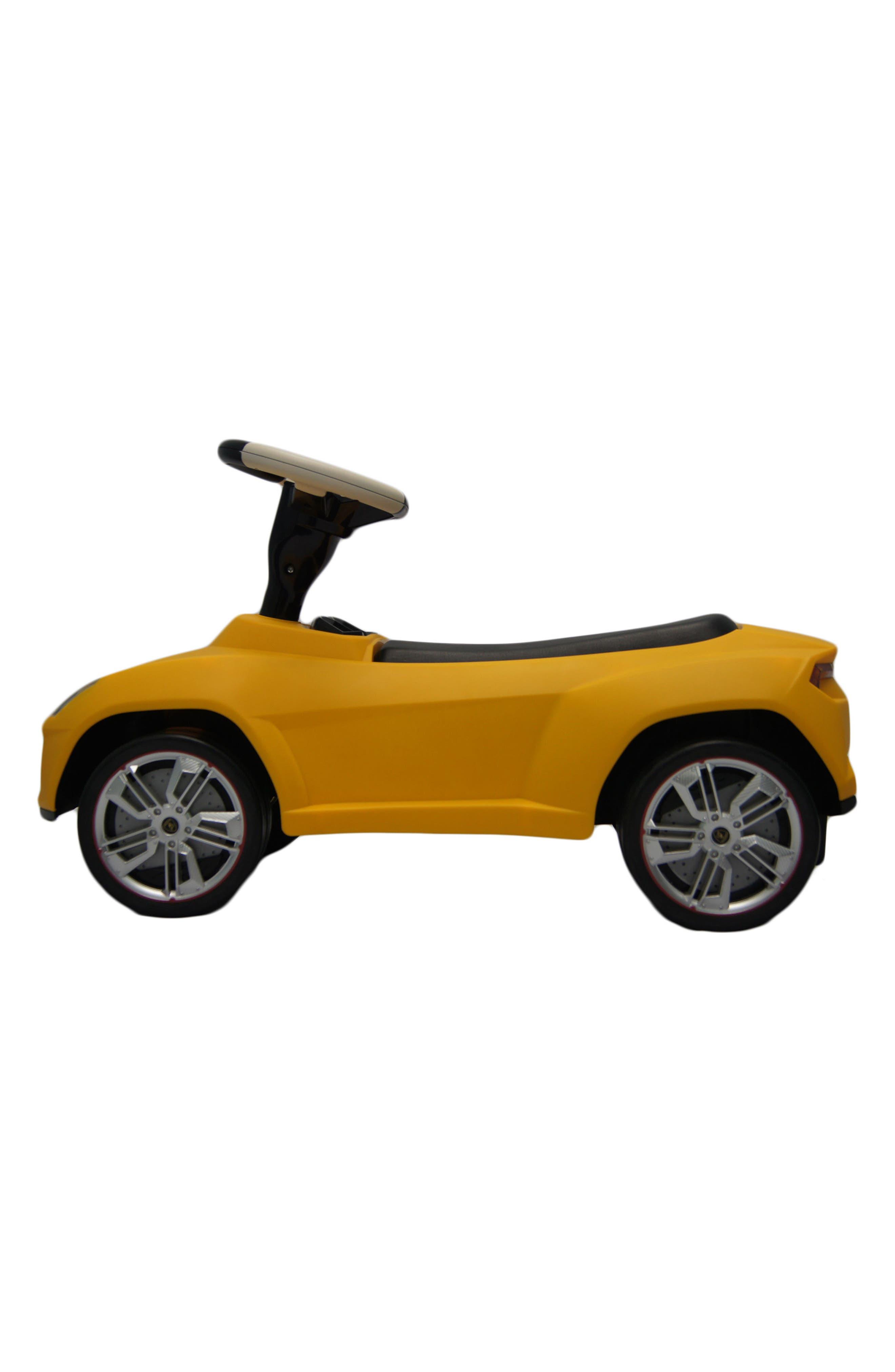 Lamborghini Urus Ride-On Push Car,                         Main,                         color, Yellow