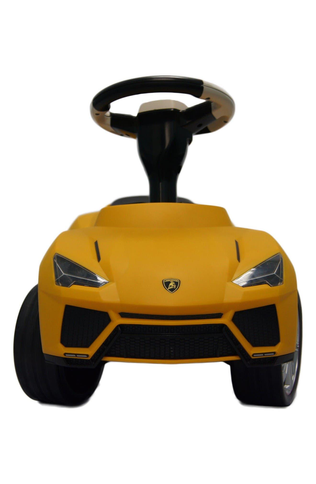 Lamborghini Urus Ride-On Push Car,                             Alternate thumbnail 2, color,                             Yellow