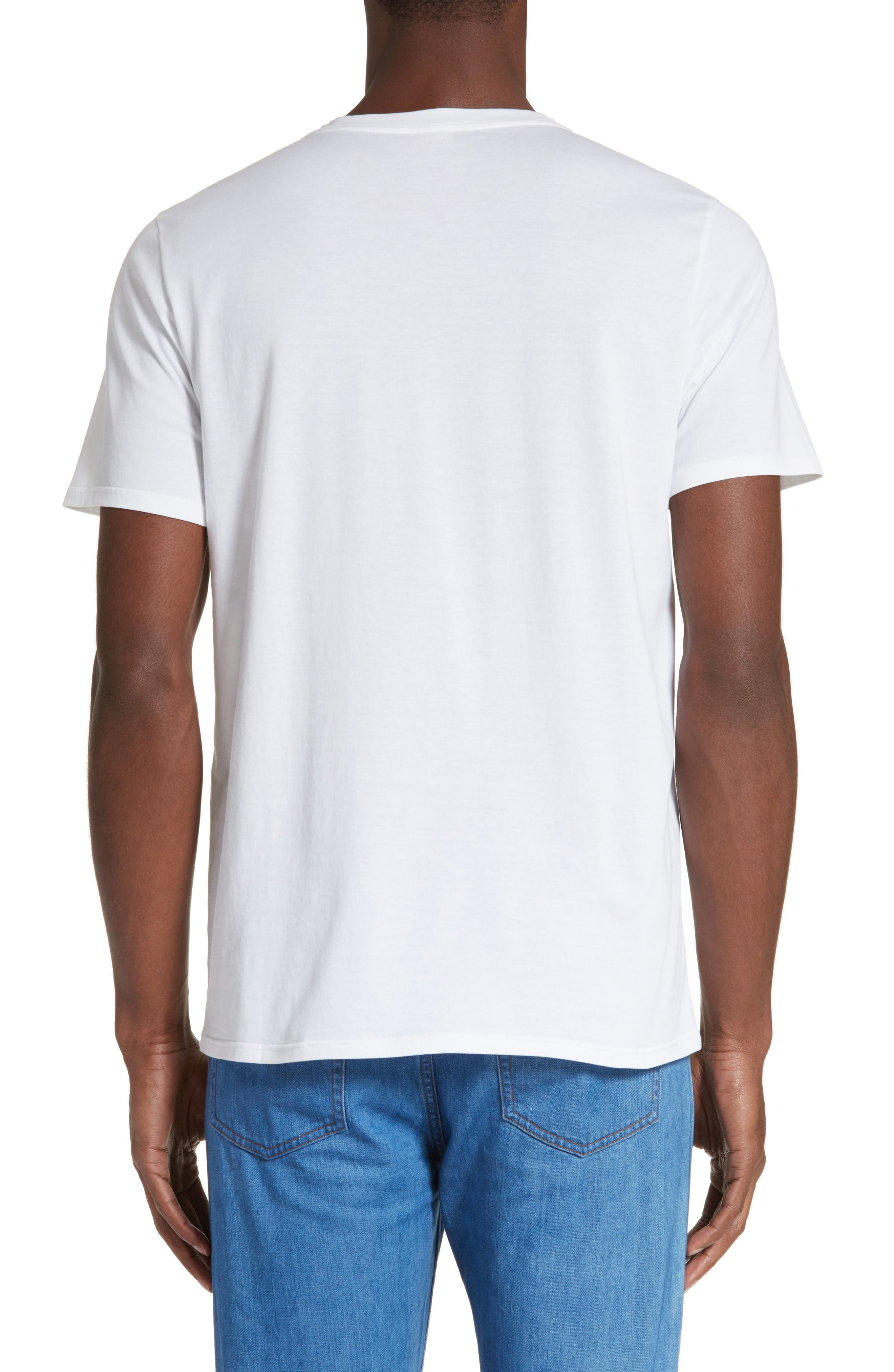 Couleurs T-Shirt,                             Alternate thumbnail 2, color,                             White