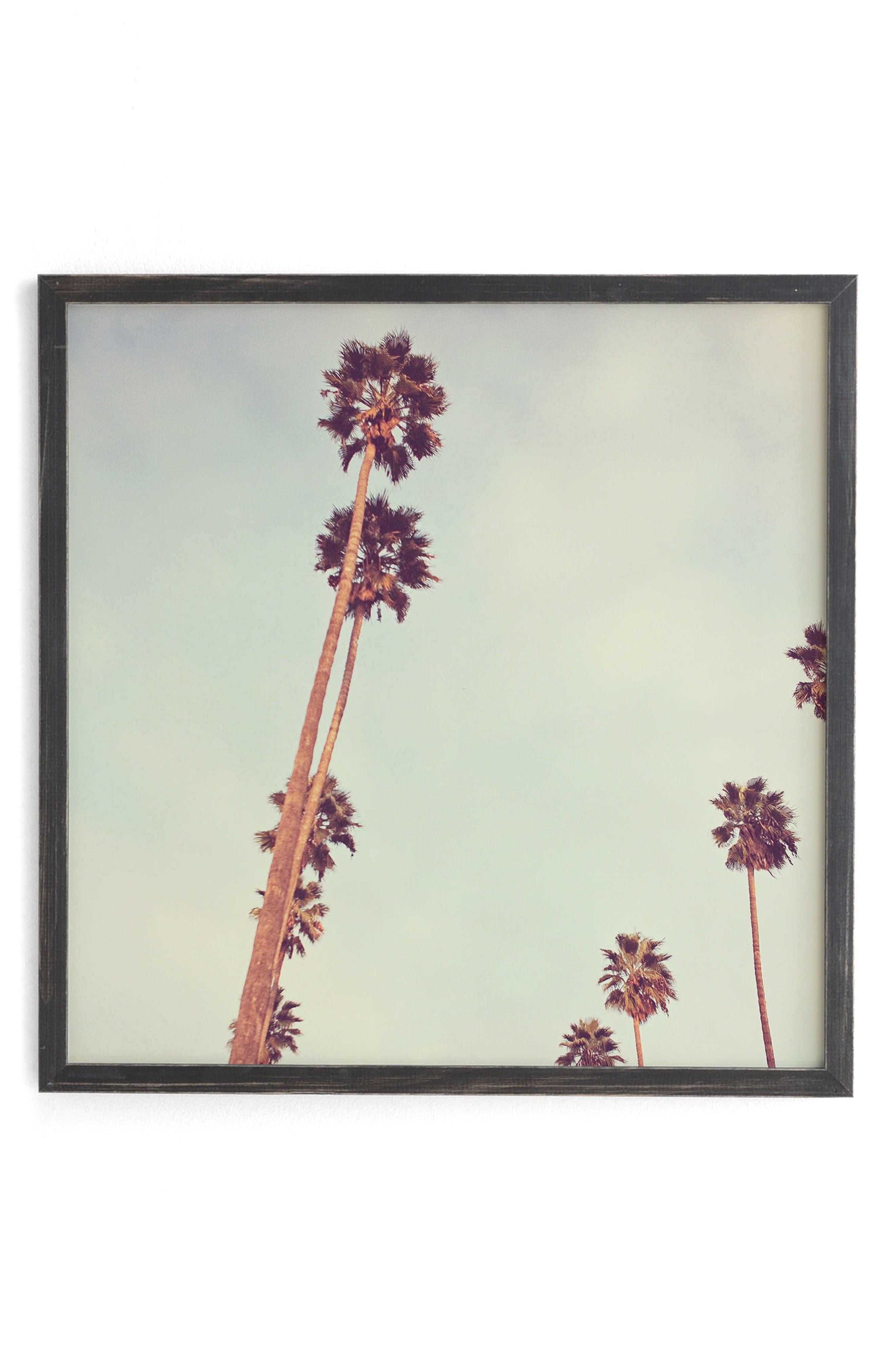 Main Image - Deny Designs Streets of Los Angeles Framed Wall Art