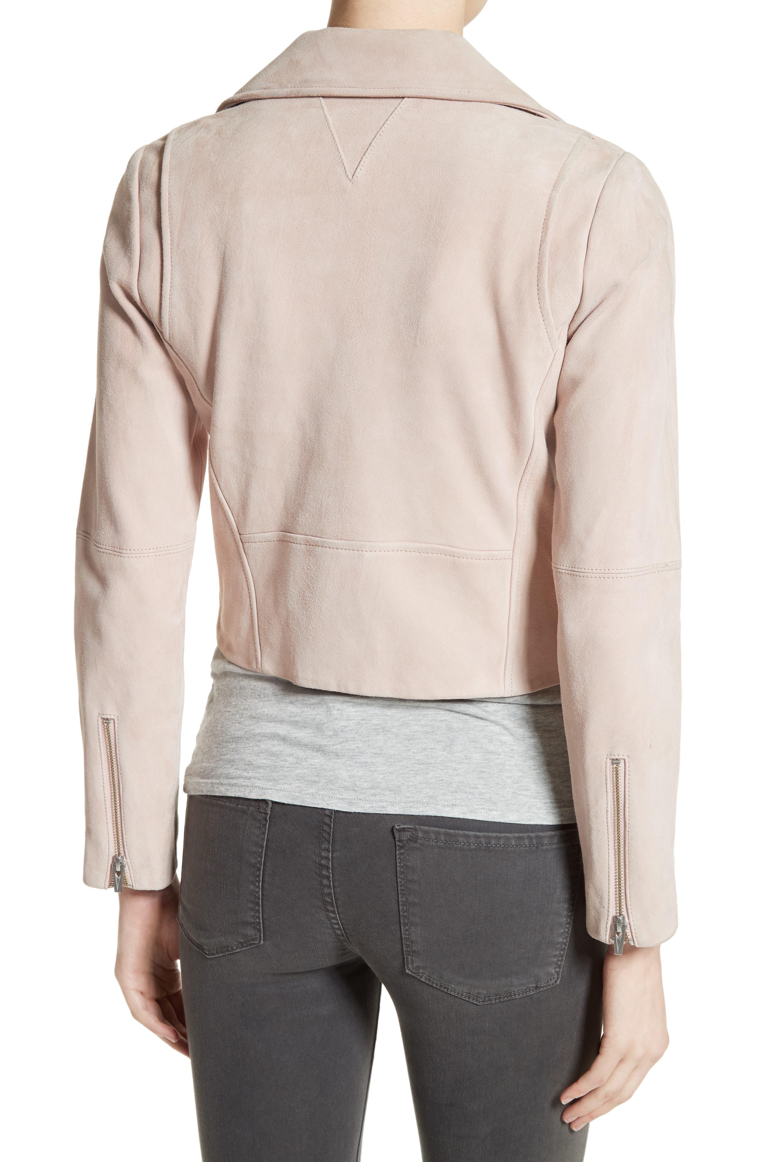 Alternate Image 2  - Veda Nova Suede Moto Jacket