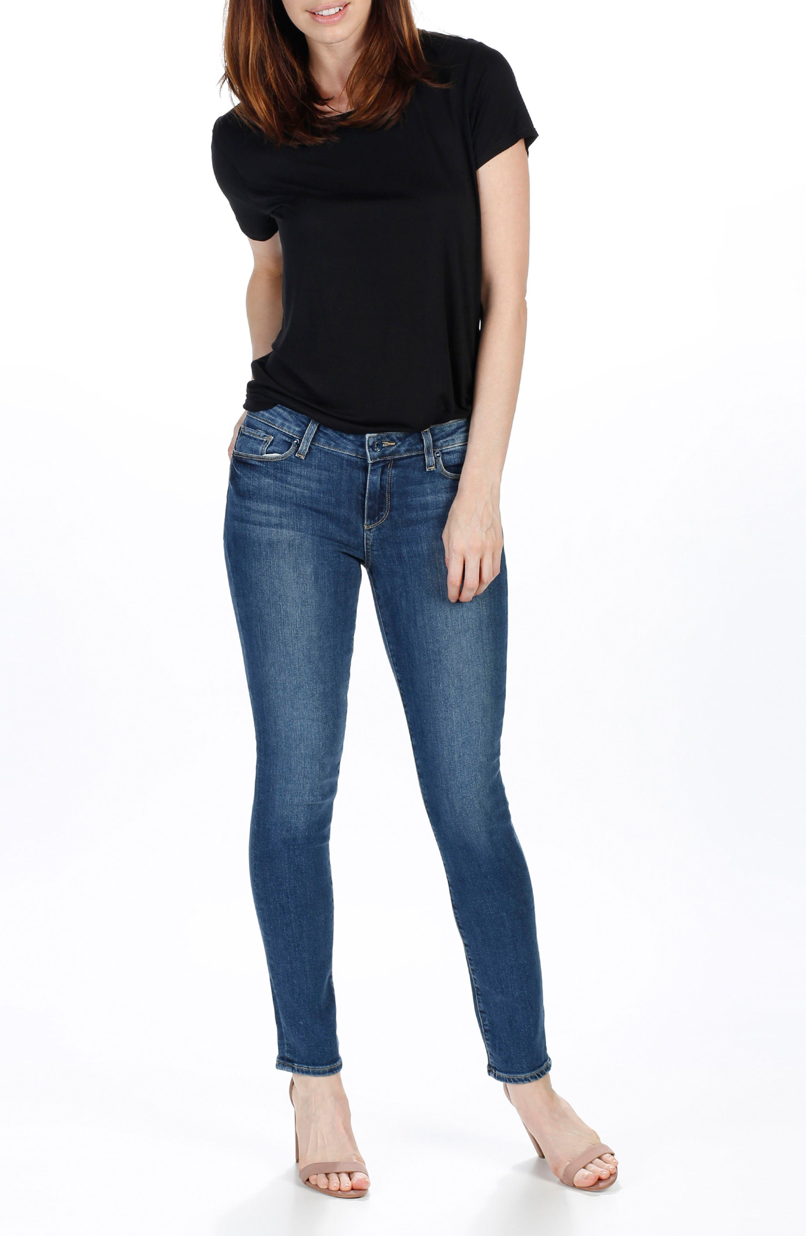 Alternate Image 3  - PAIGE Legacy - Skyline Ankle Peg Skinny Jeans (Lane)
