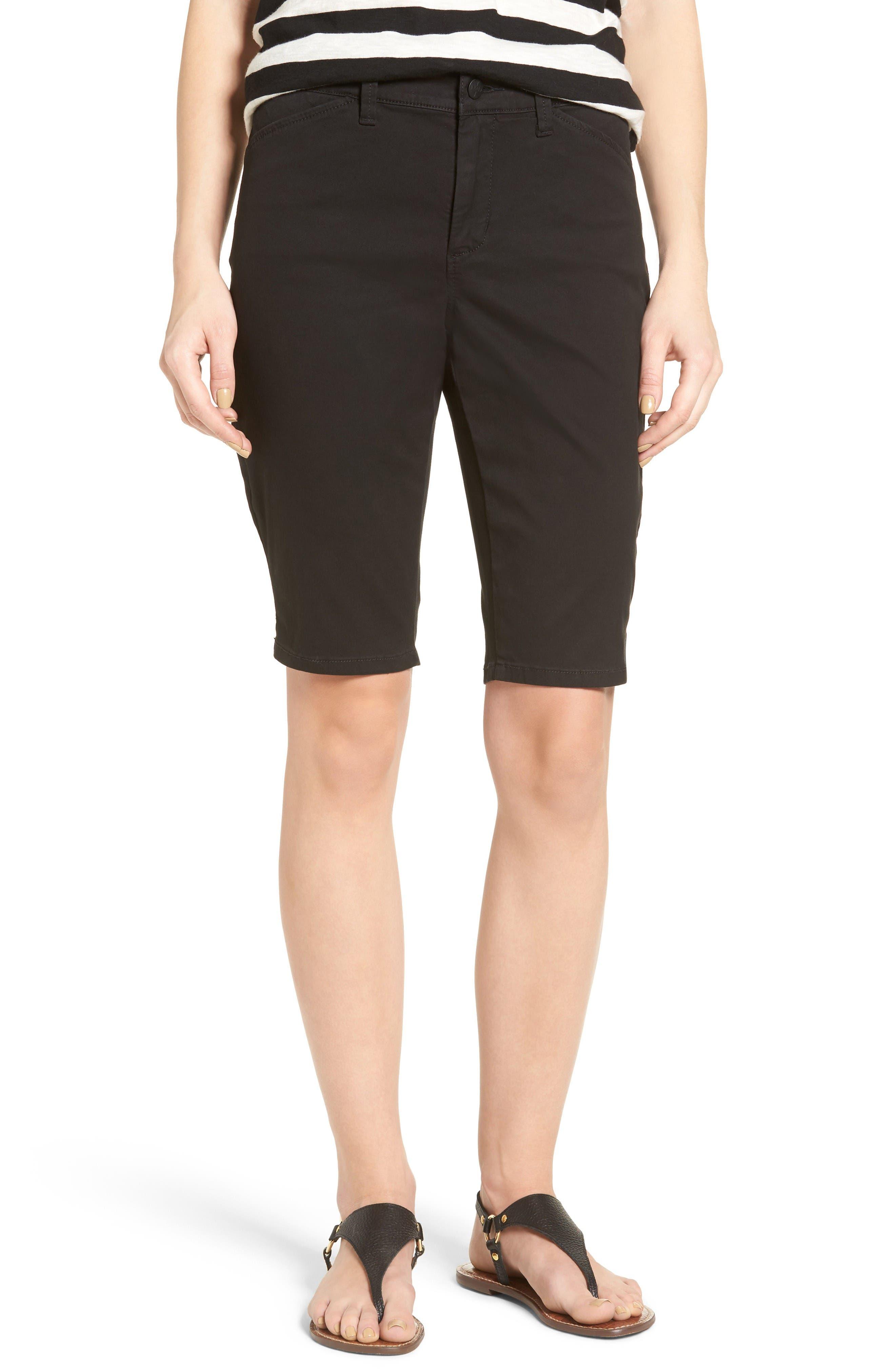 NYDJ Stretch Twill Bermuda Shorts (Regular & Petite)