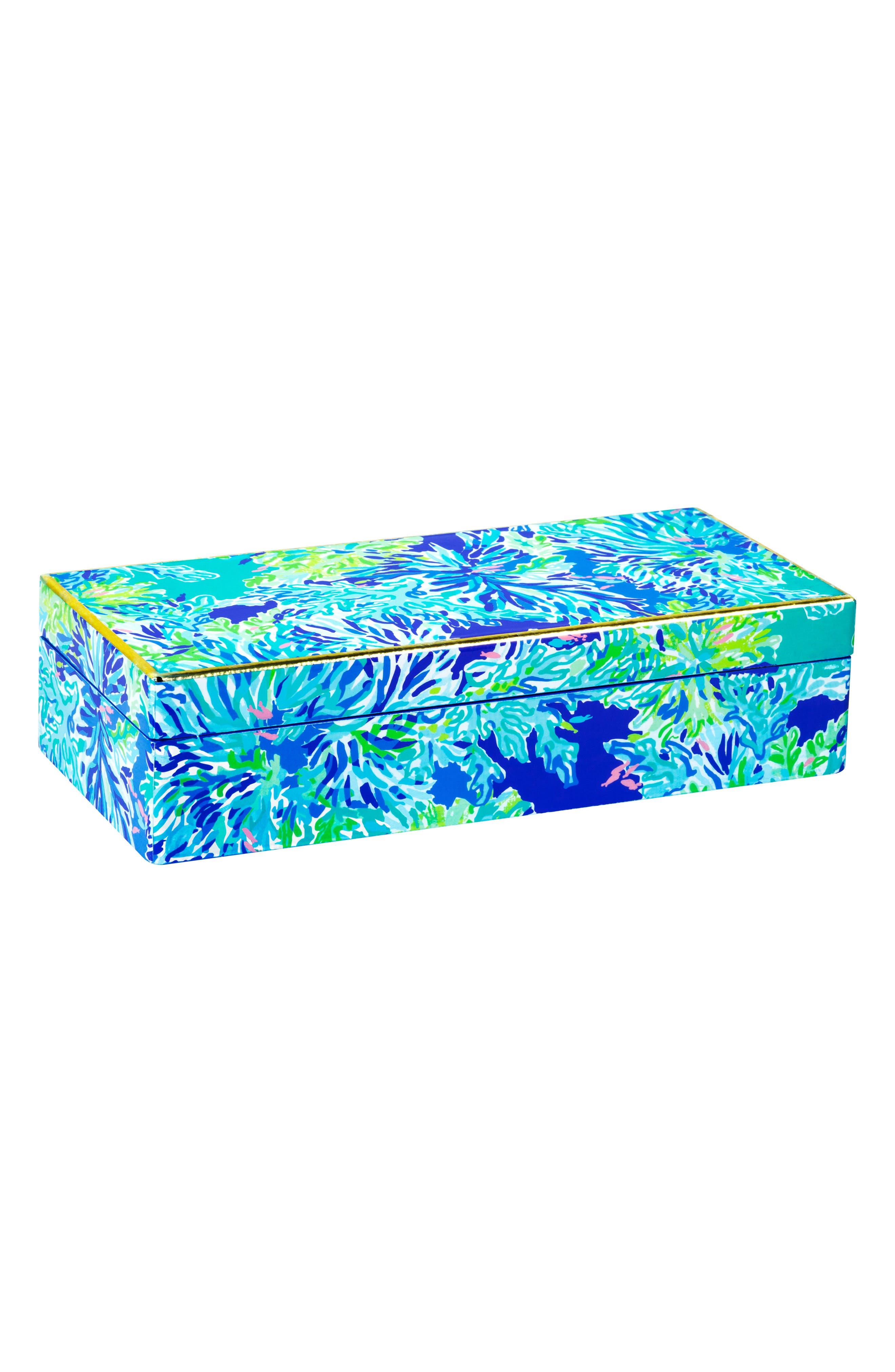 Lacquer Box,                         Main,                         color, Wade And Sea