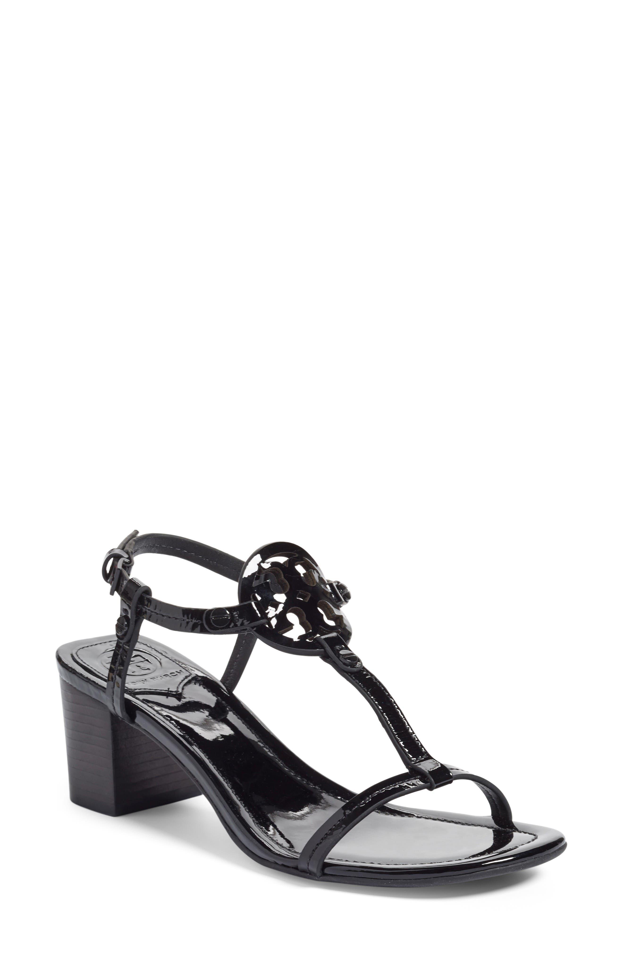 Alternate Image 1 Selected - Tory Burch Miller Block Heel Sandal (Women)