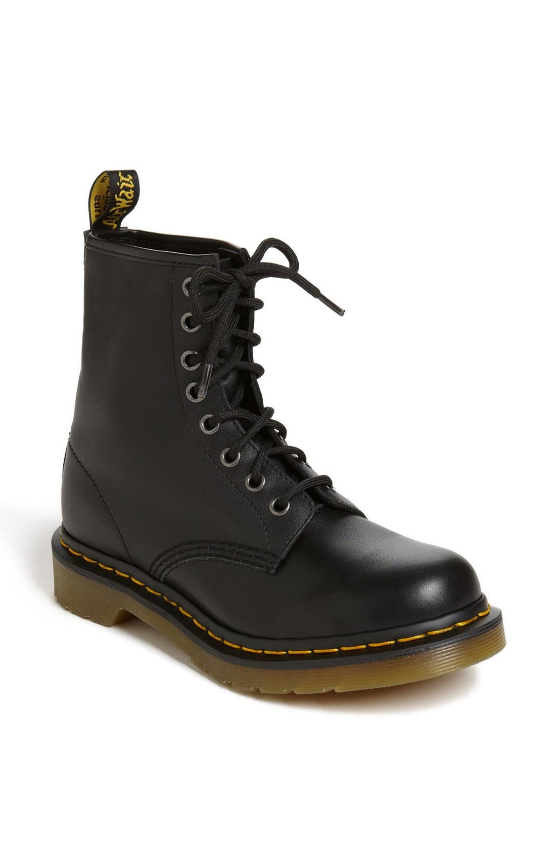 1460 W Boot,                             Main thumbnail 1, color,                             Black