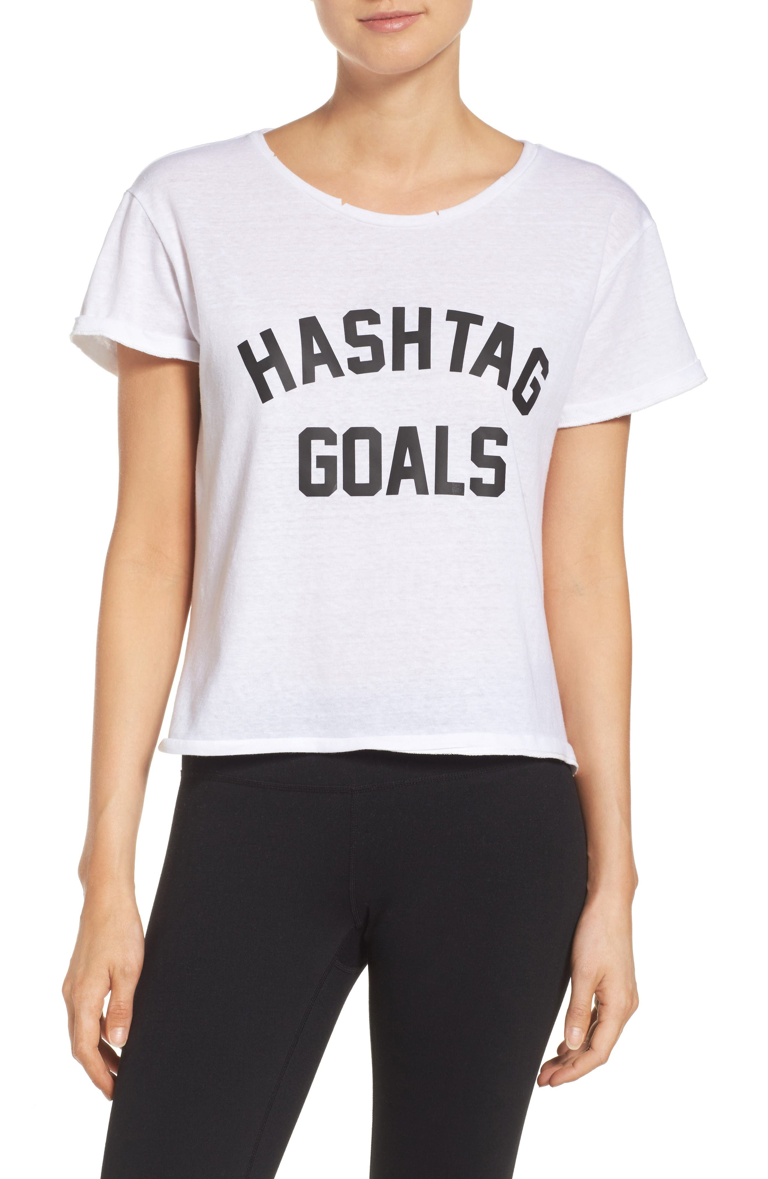 Private Party Hashtag Goals Tee