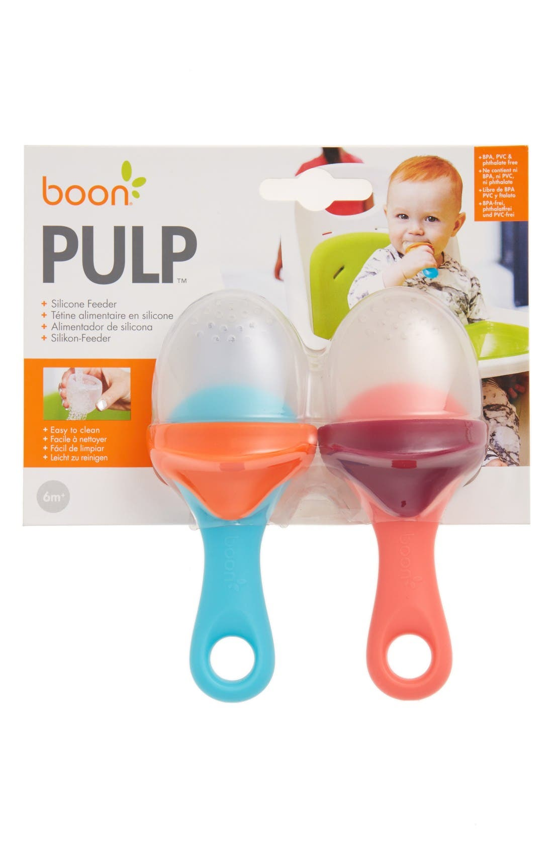 Main Image - Boon Pulp 2-Pack Silicone Feeders