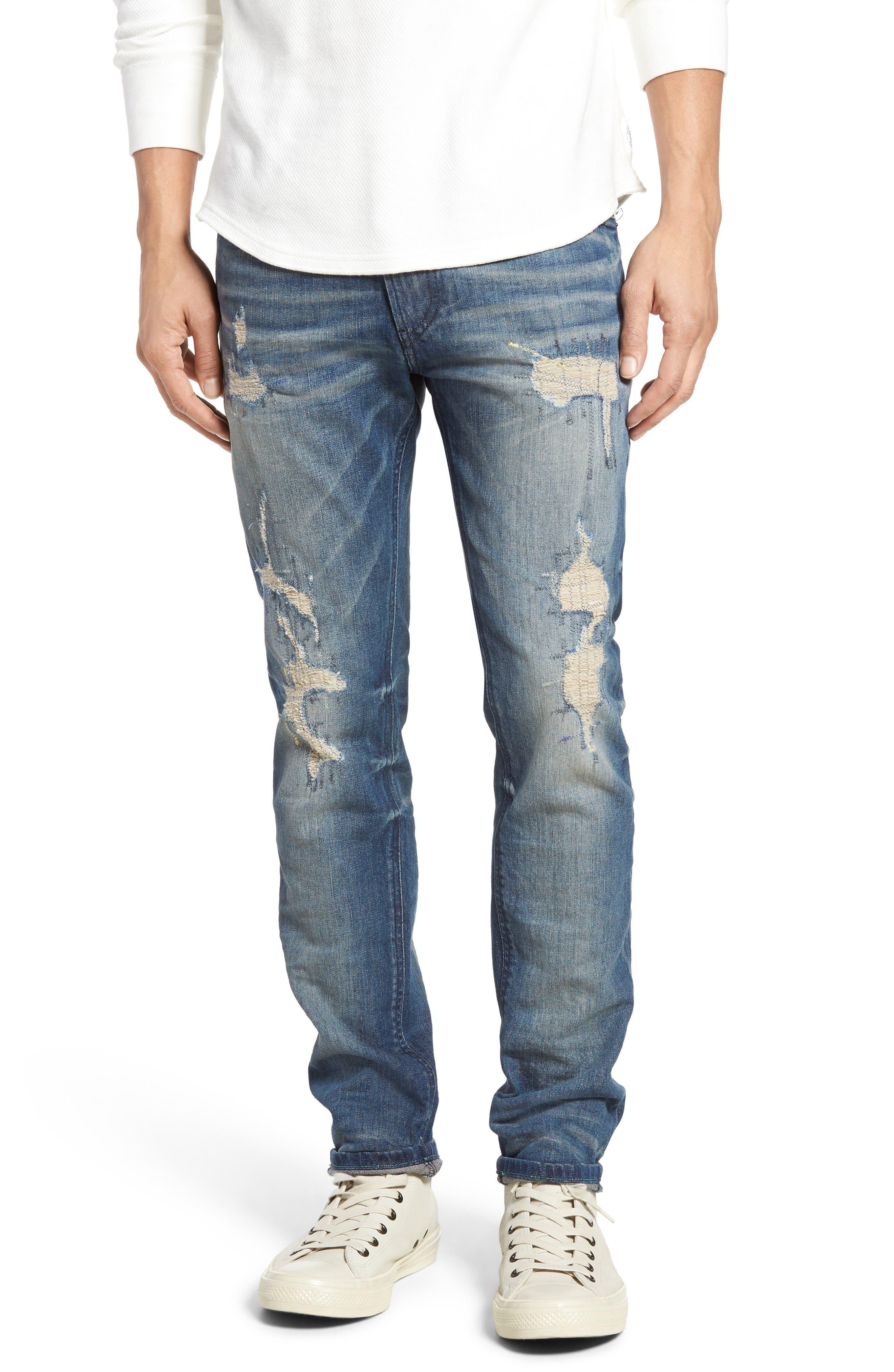 DIESEL<SUP>®</SUP> Thommer Slim Fit Jeans