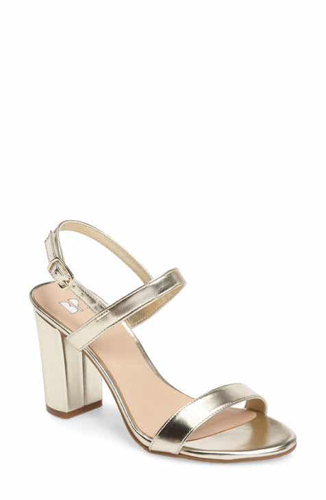 9c28b7bdf321a0 Lula Block Heel Slingback Sandal (Women)
