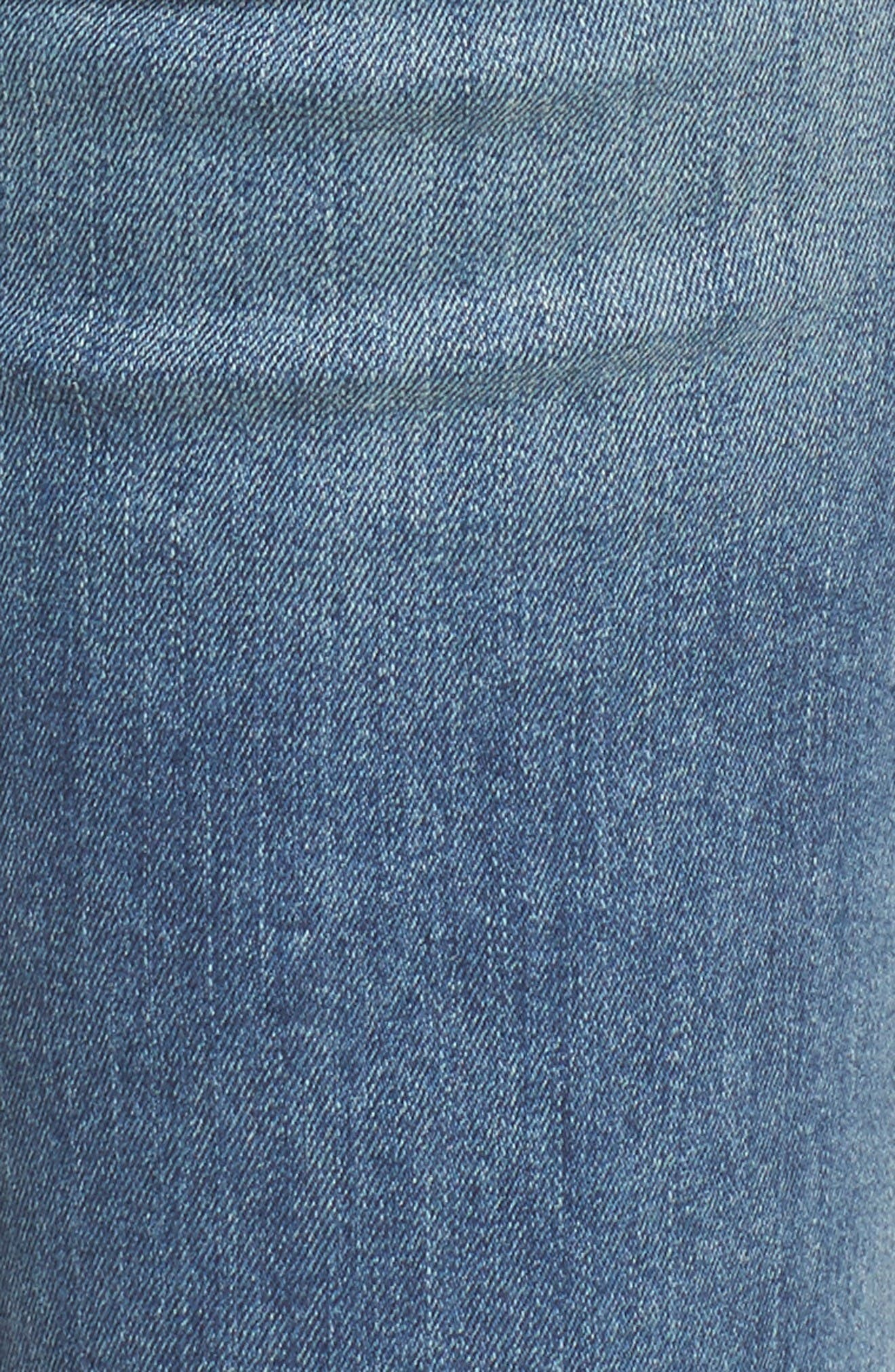 Ava Stretch Skinny Jeans,                             Alternate thumbnail 5, color,                             Liverpool