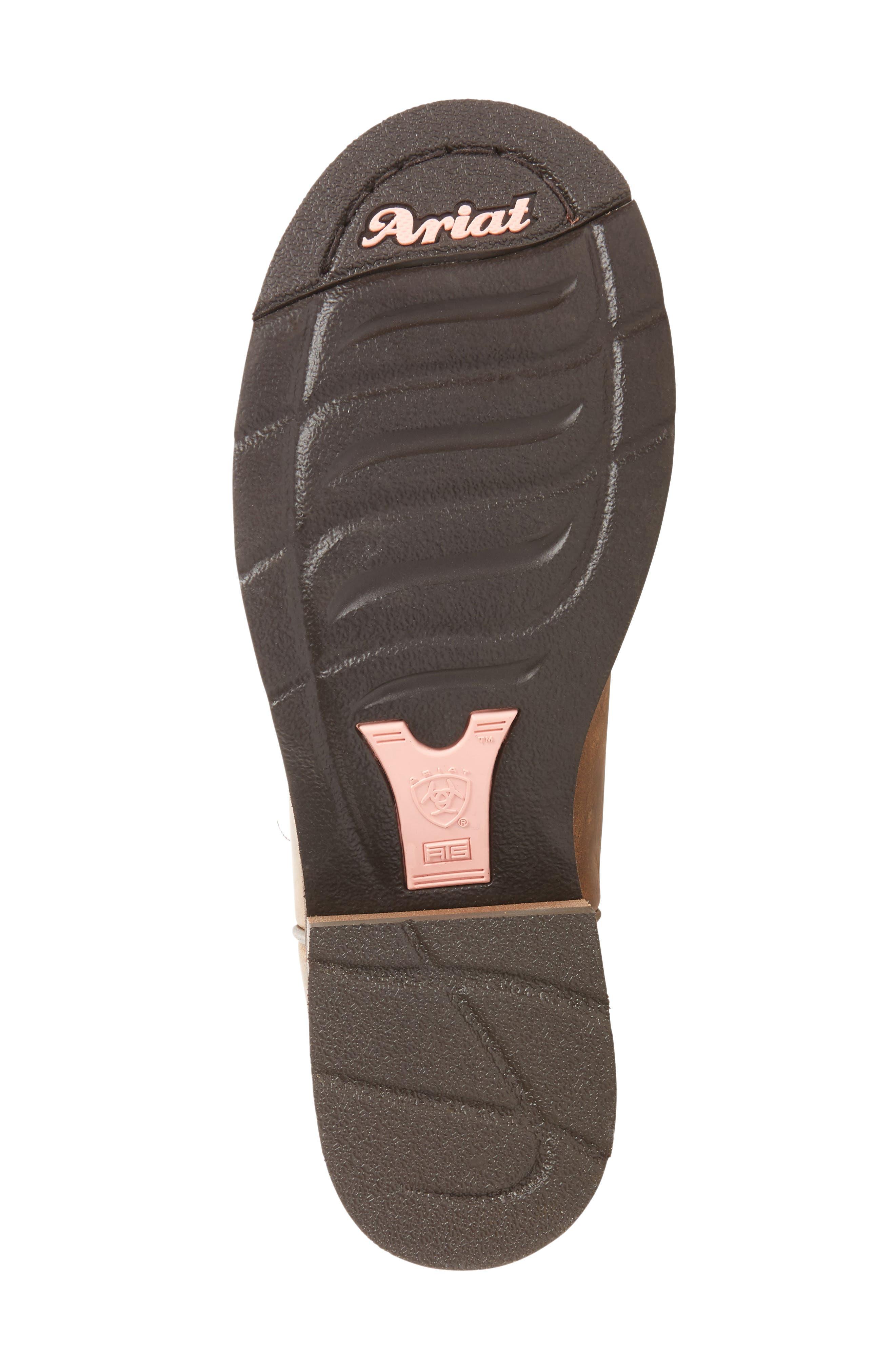 Alternate Image 4  - Ariat Unbridled Roper Western Boot (Women)