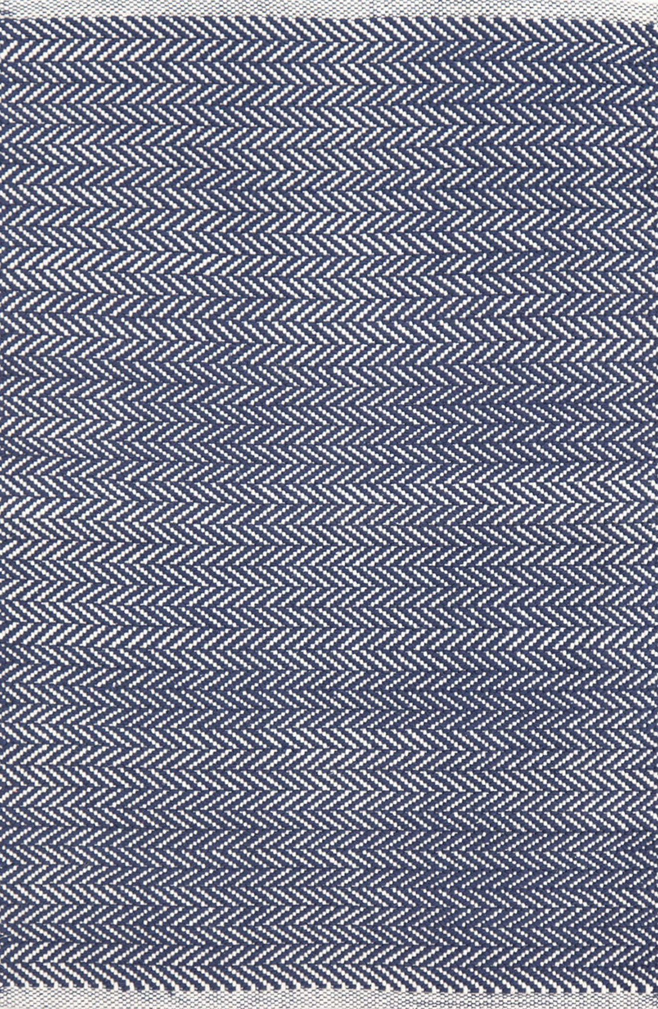 Dash & Albert Herringbone Indoor/Outdoor Rug
