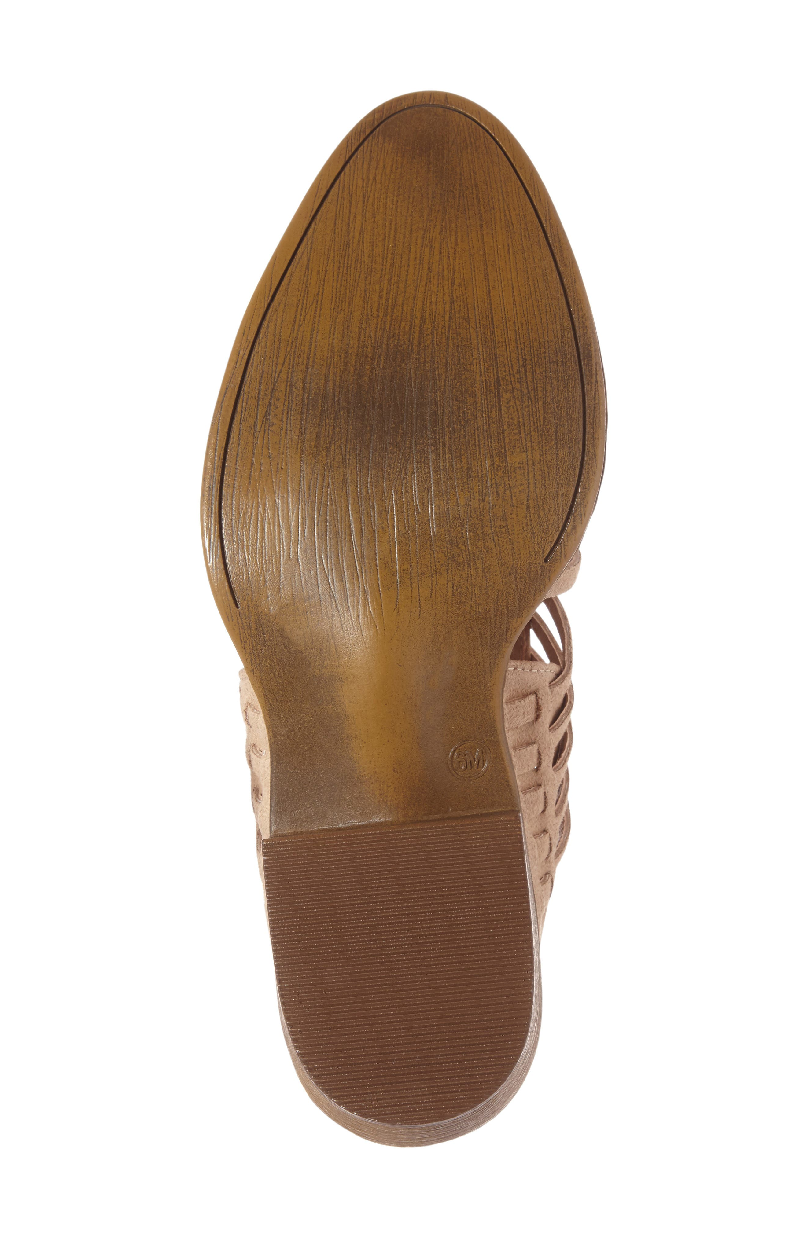 Coconuts by Matisse Woody Bootie,                             Alternate thumbnail 4, color,                             Natural Fabric