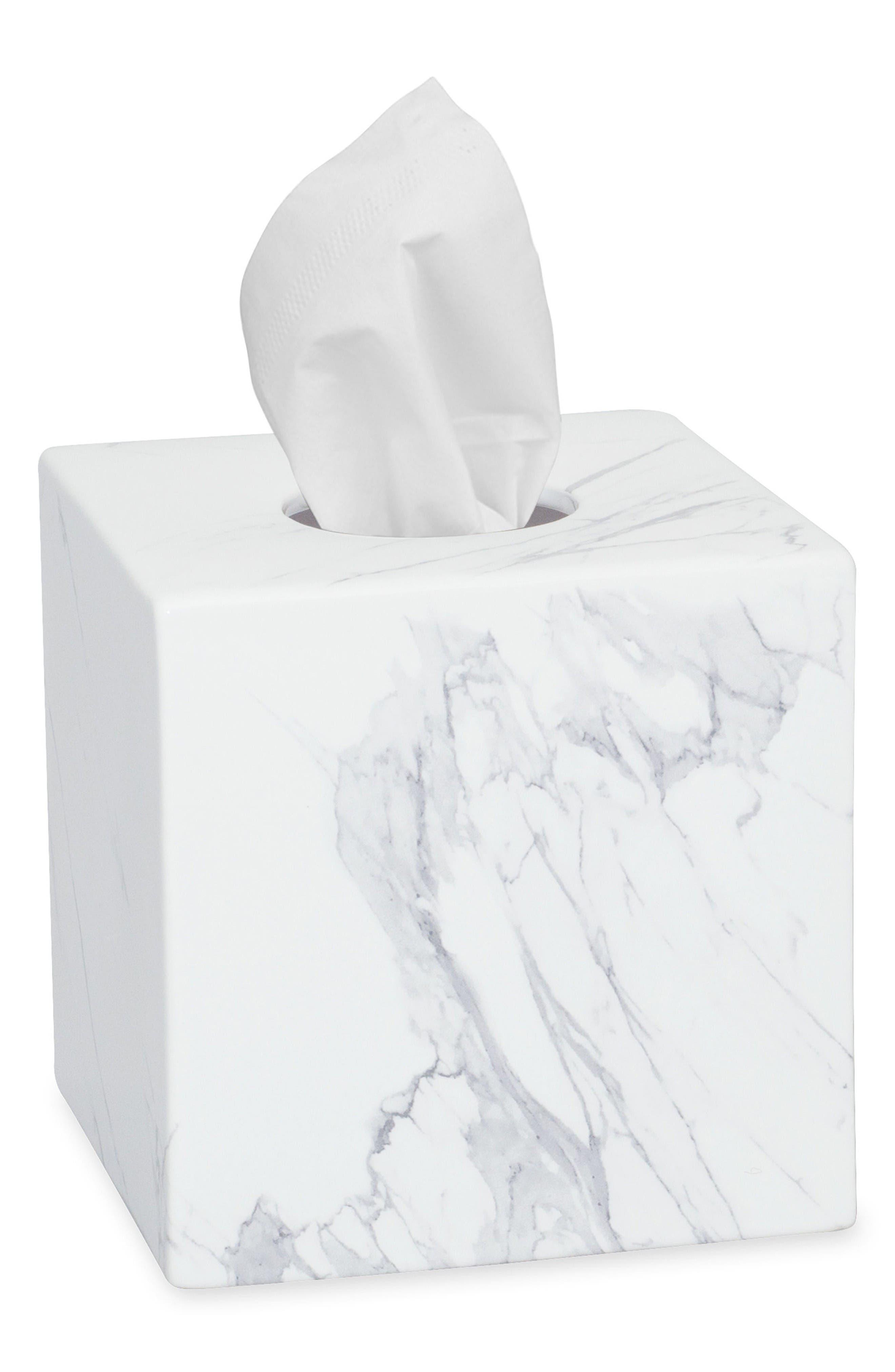 DKNY Mixed Media Tissue Box Cover