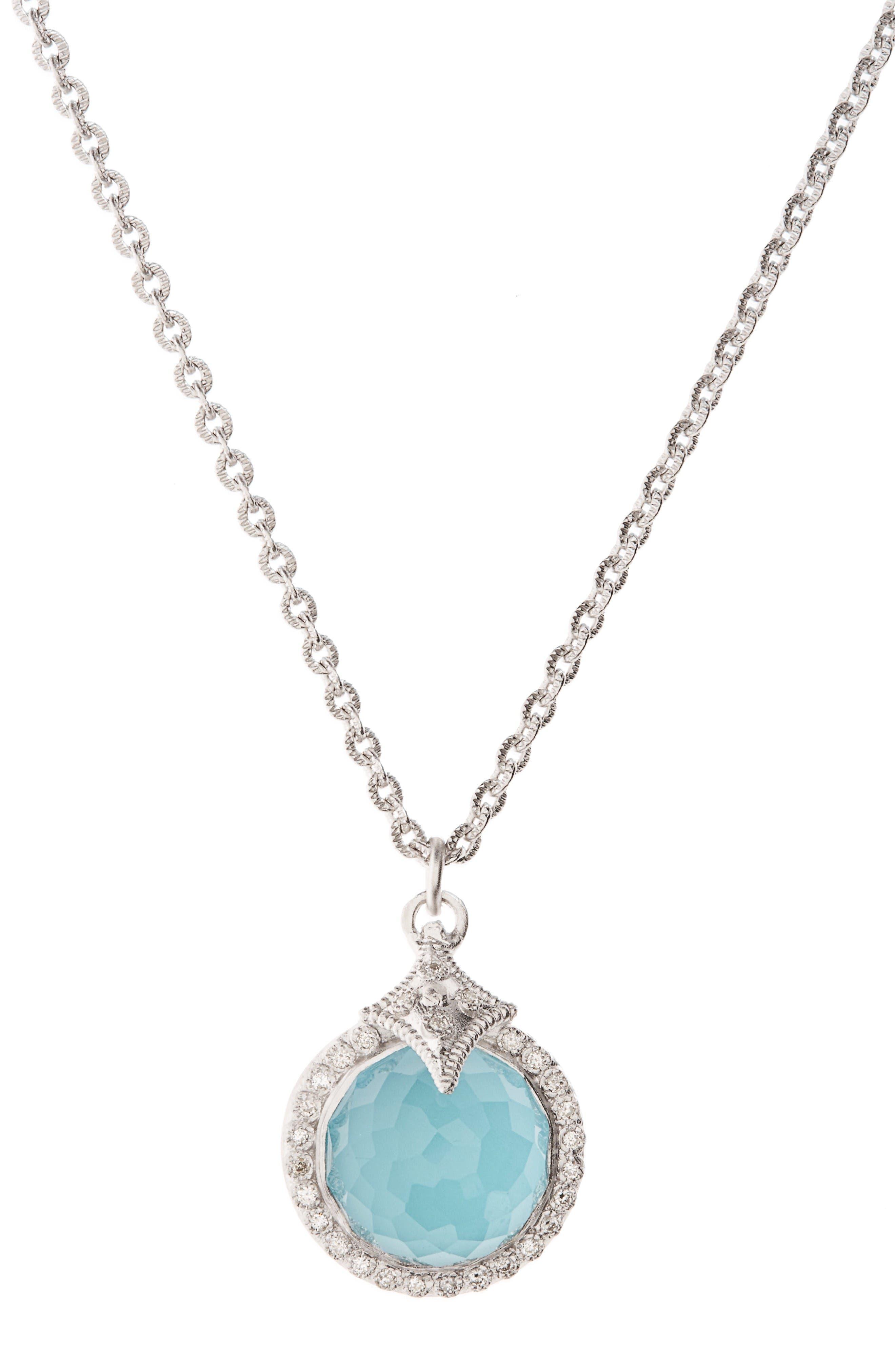 Main Image - Armenta New World Turquoise Pendant Necklace