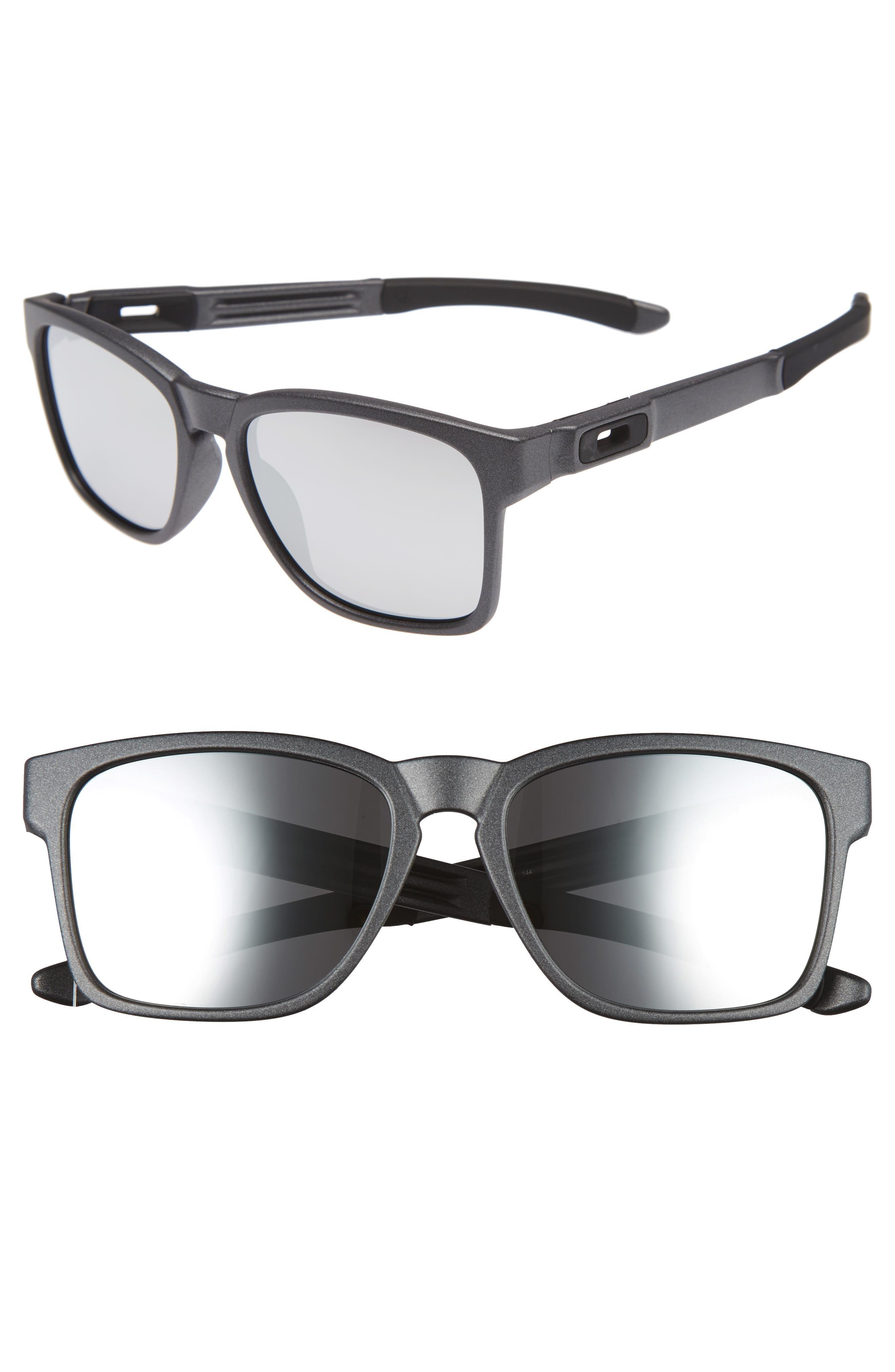 Catalyst 56mm Sunglasses,                             Main thumbnail 1, color,                             Grey