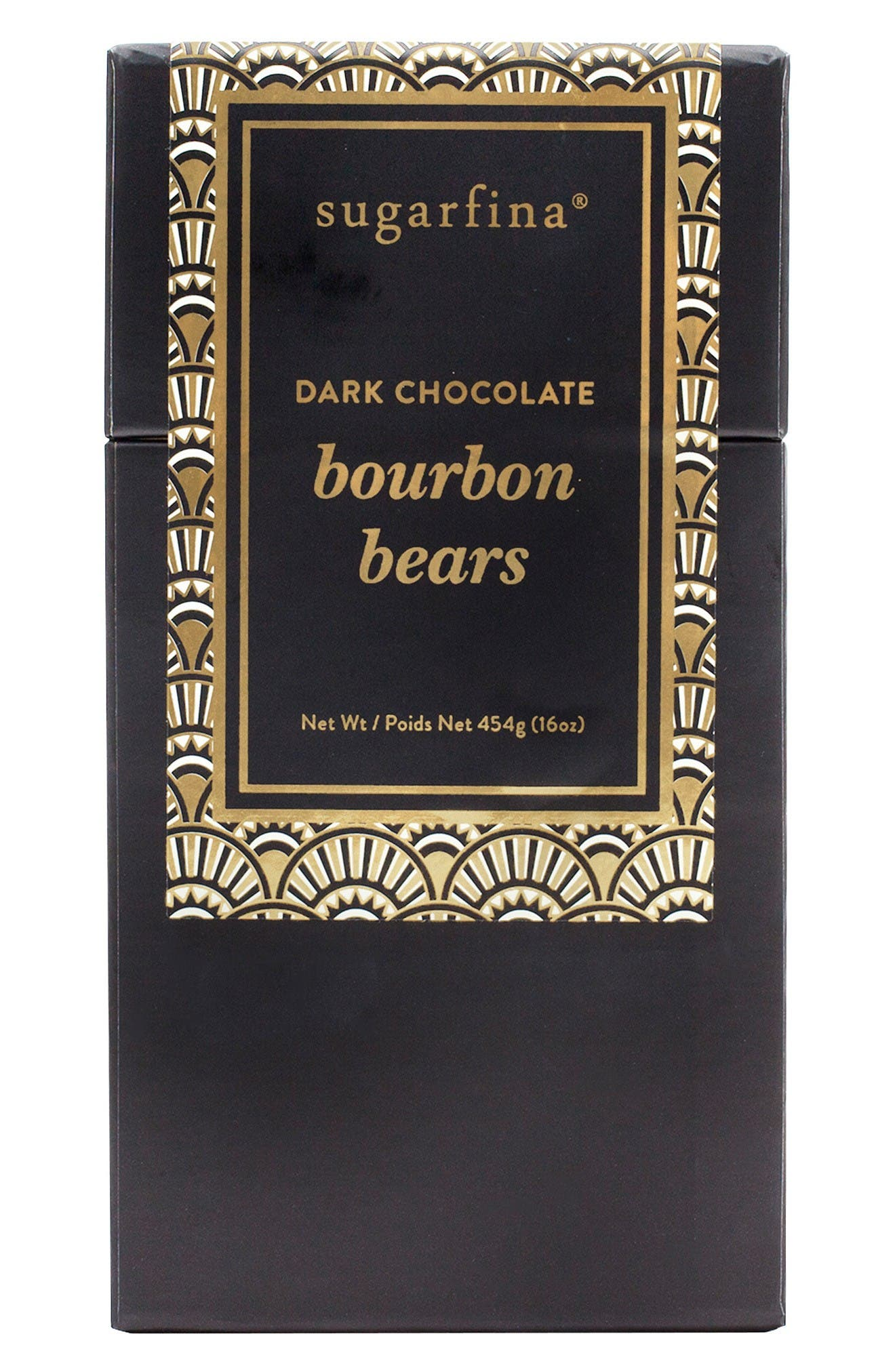 Dark Chocolate Bourbon Bears,                         Main,                         color, Black