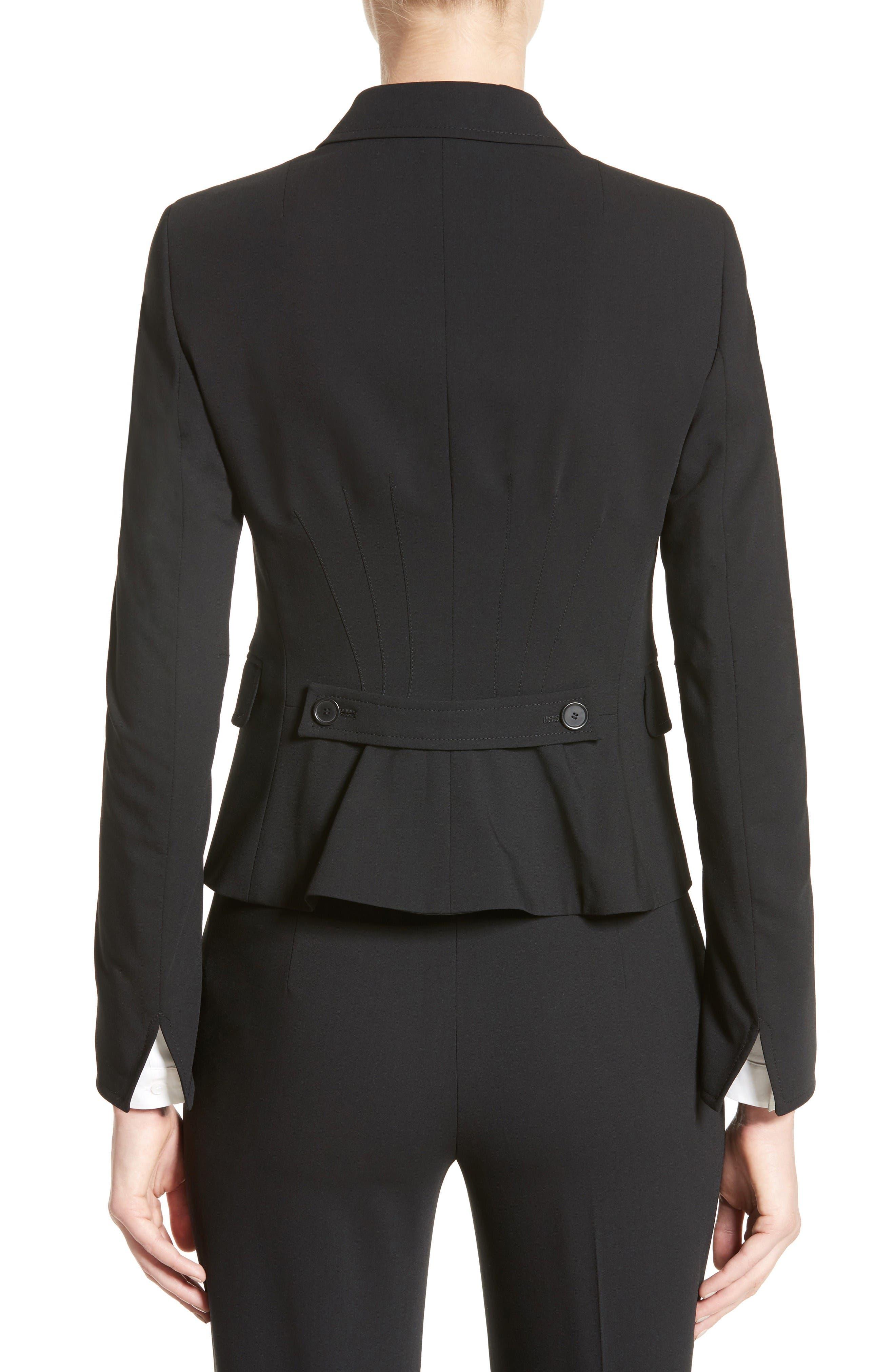 Alternate Image 2  - Akris punto Fitted Wool Jacket