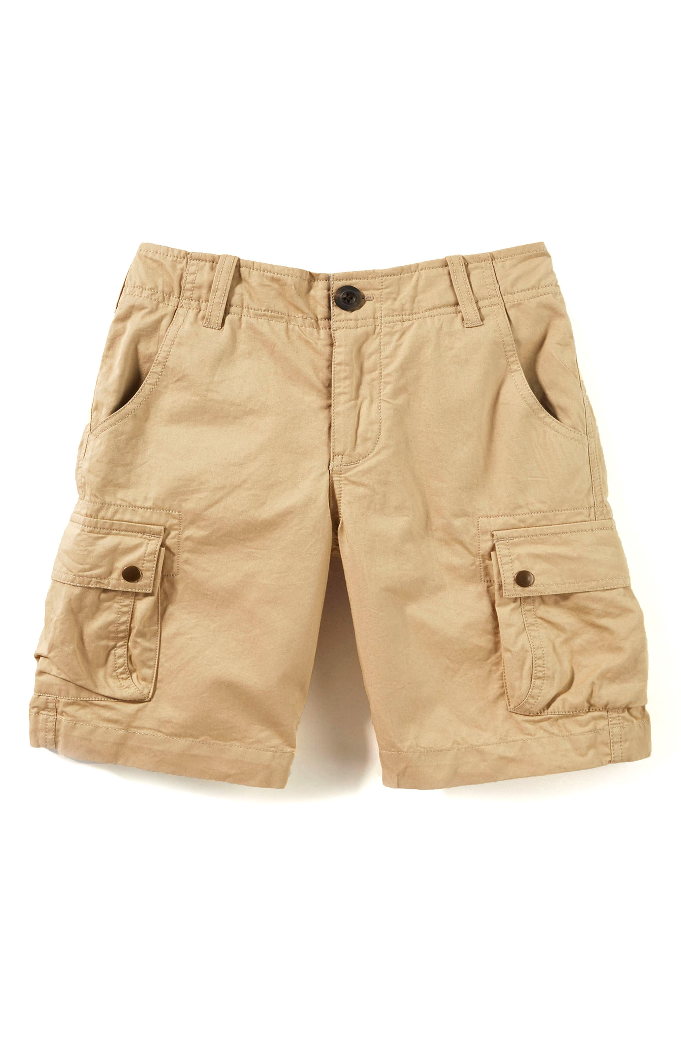 Cargo Shorts,                             Main thumbnail 1, color,                             Khaki
