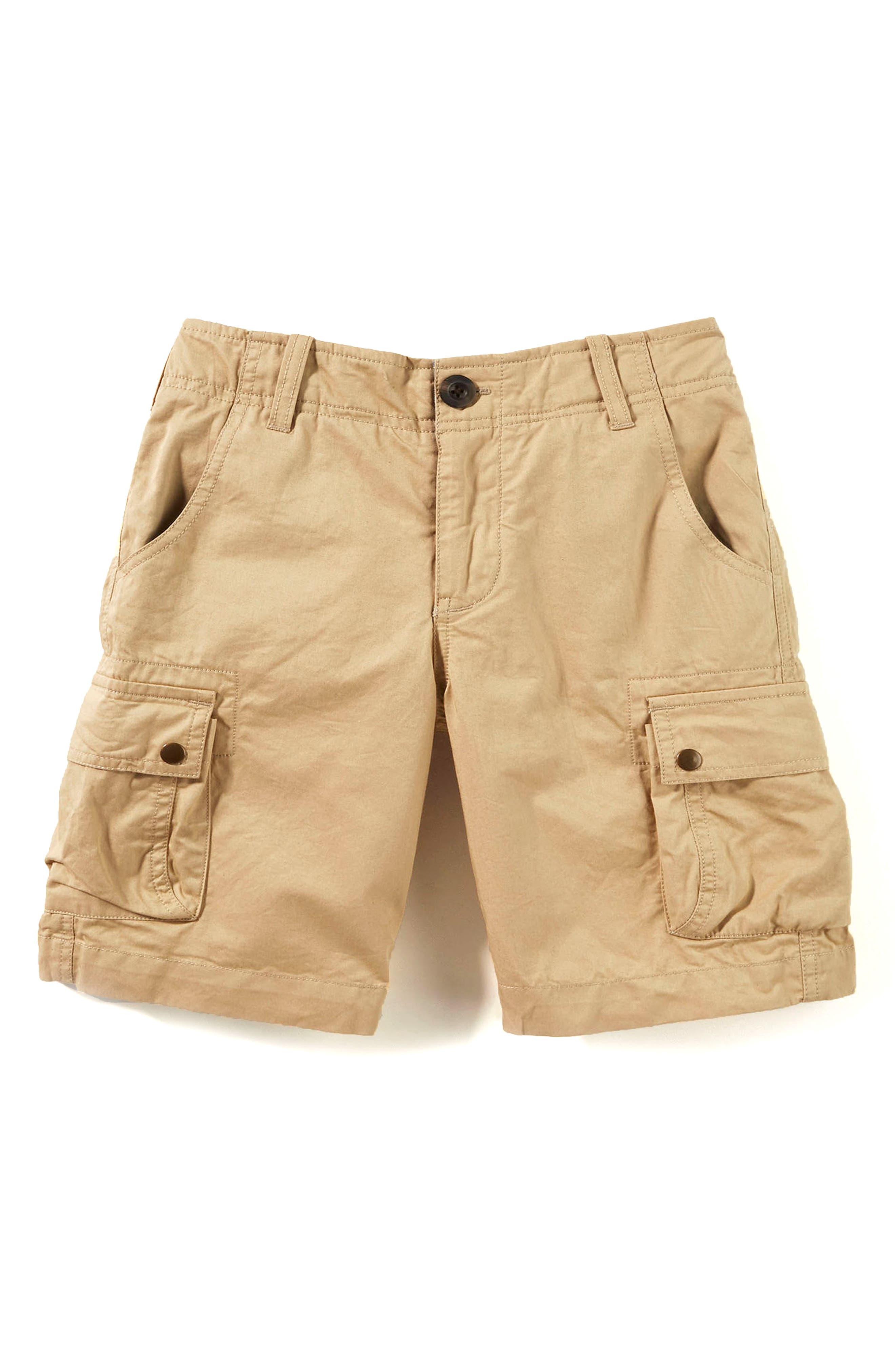 Cargo Shorts,                         Main,                         color, Khaki
