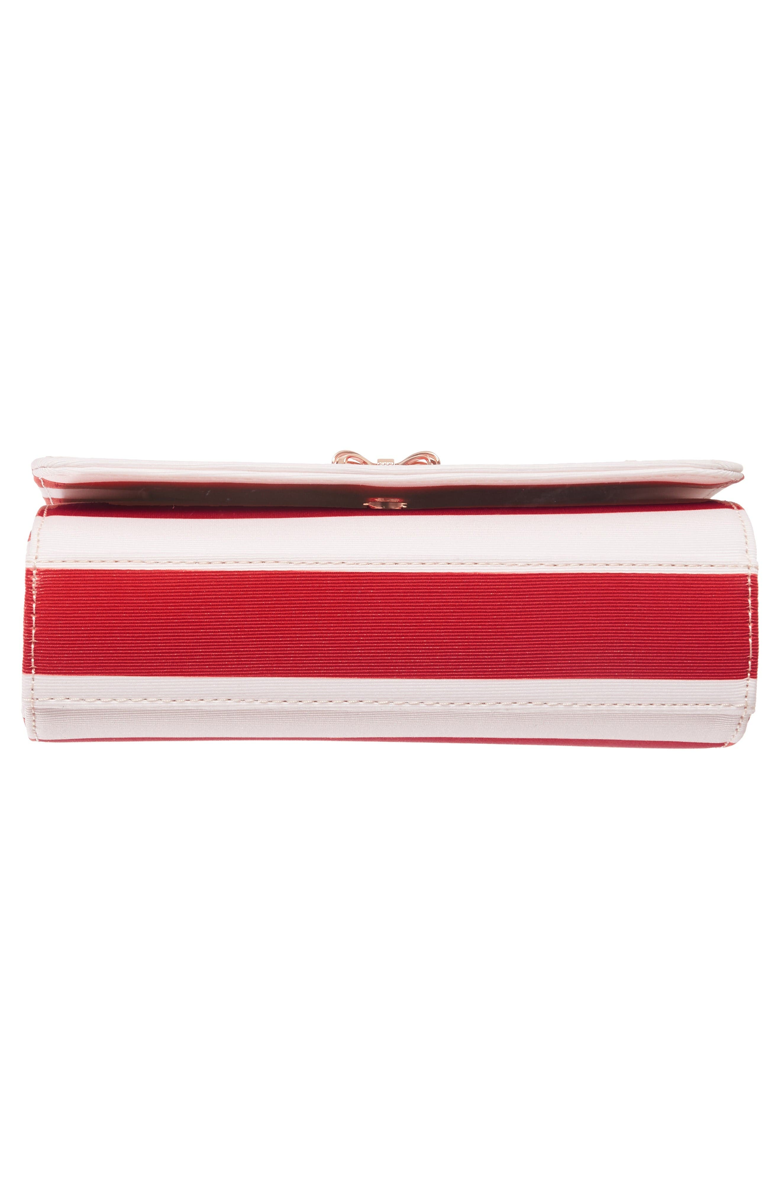 Alternate Image 6  - Ted Baker London Pier Stripe Clutch