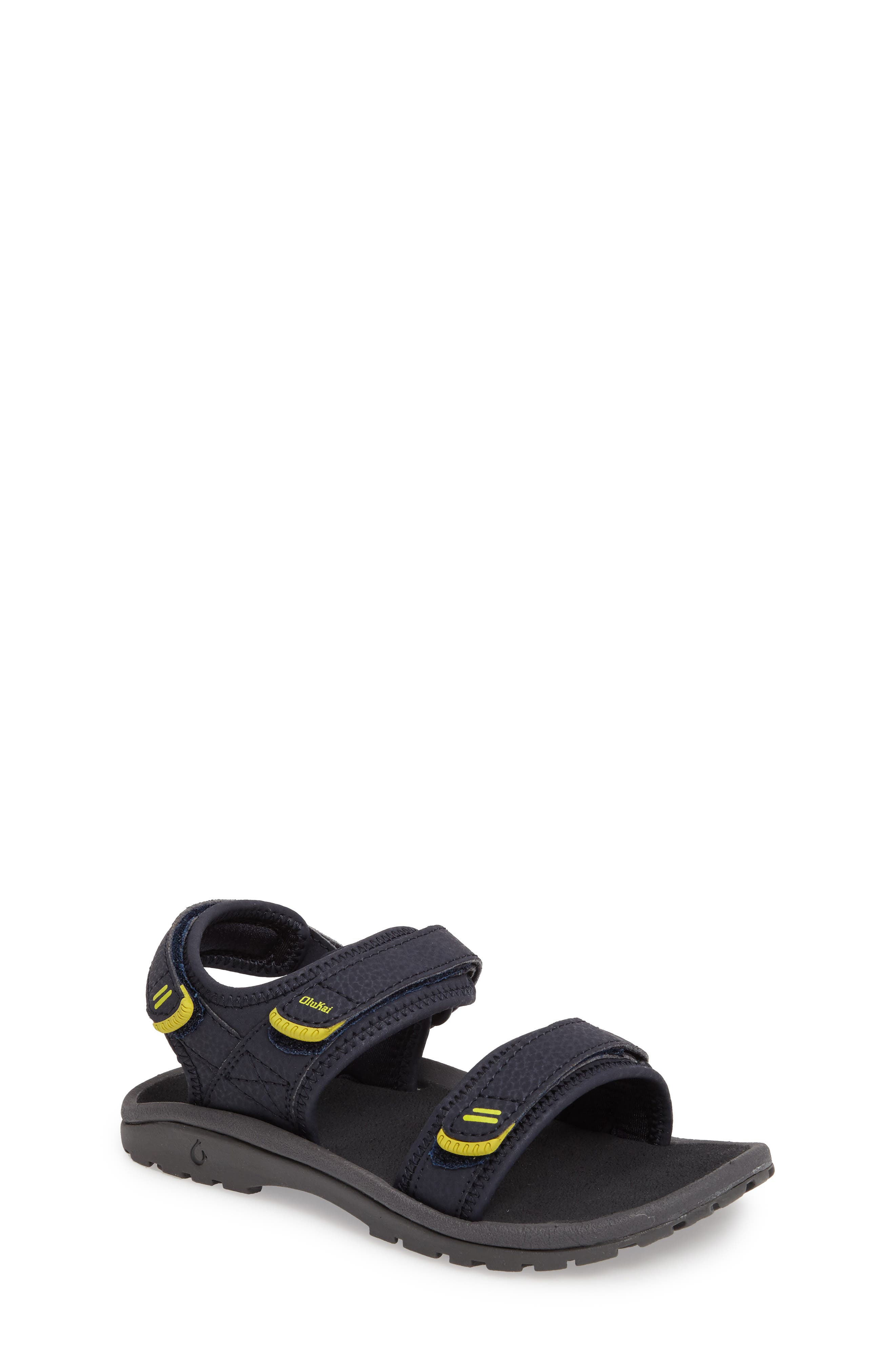 Alternate Image 1 Selected - OluKai Pahu Sandal (Toddler, Little Kid & Big Kid)