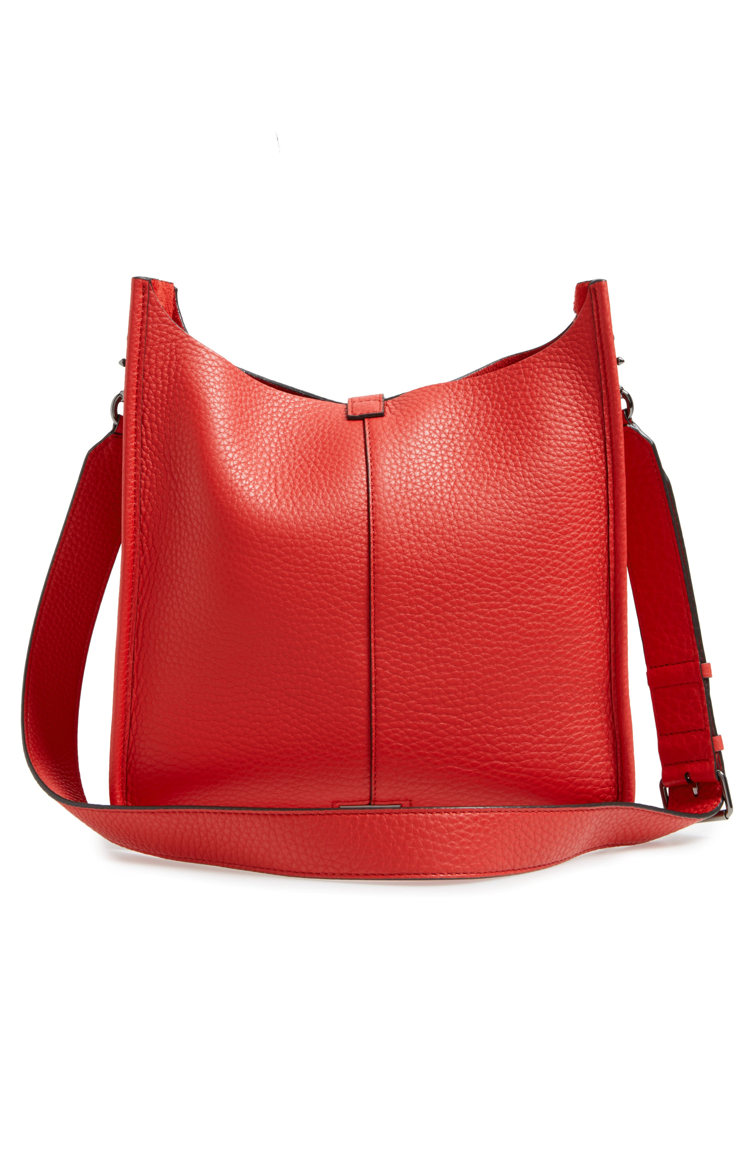 Alternate Image 3  - Rebecca Minkoff Unlined Whipstitch Feed Bag