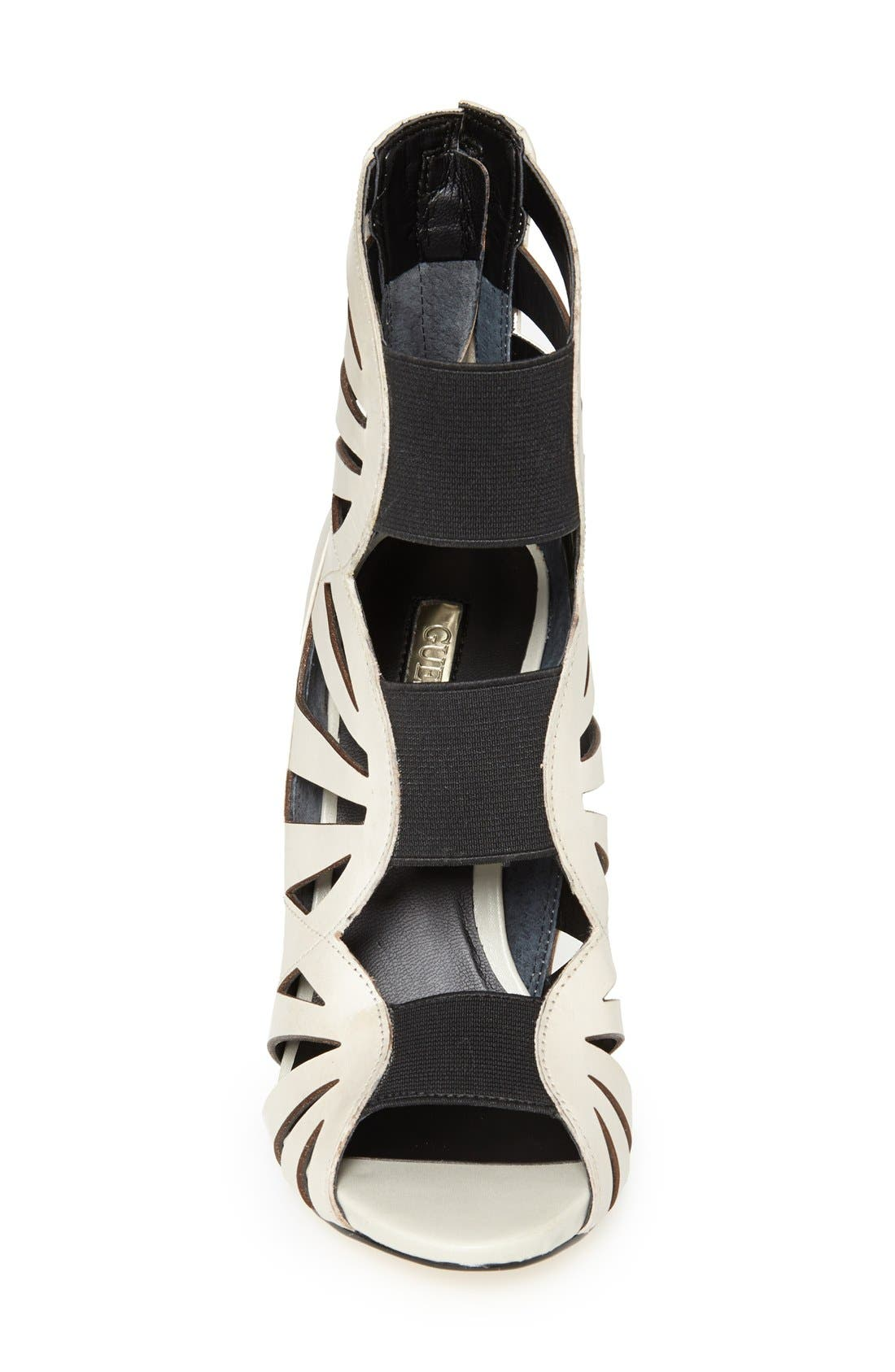 Alternate Image 3  - GUESS 'Aela' Leather Open Front Sandal (Women)