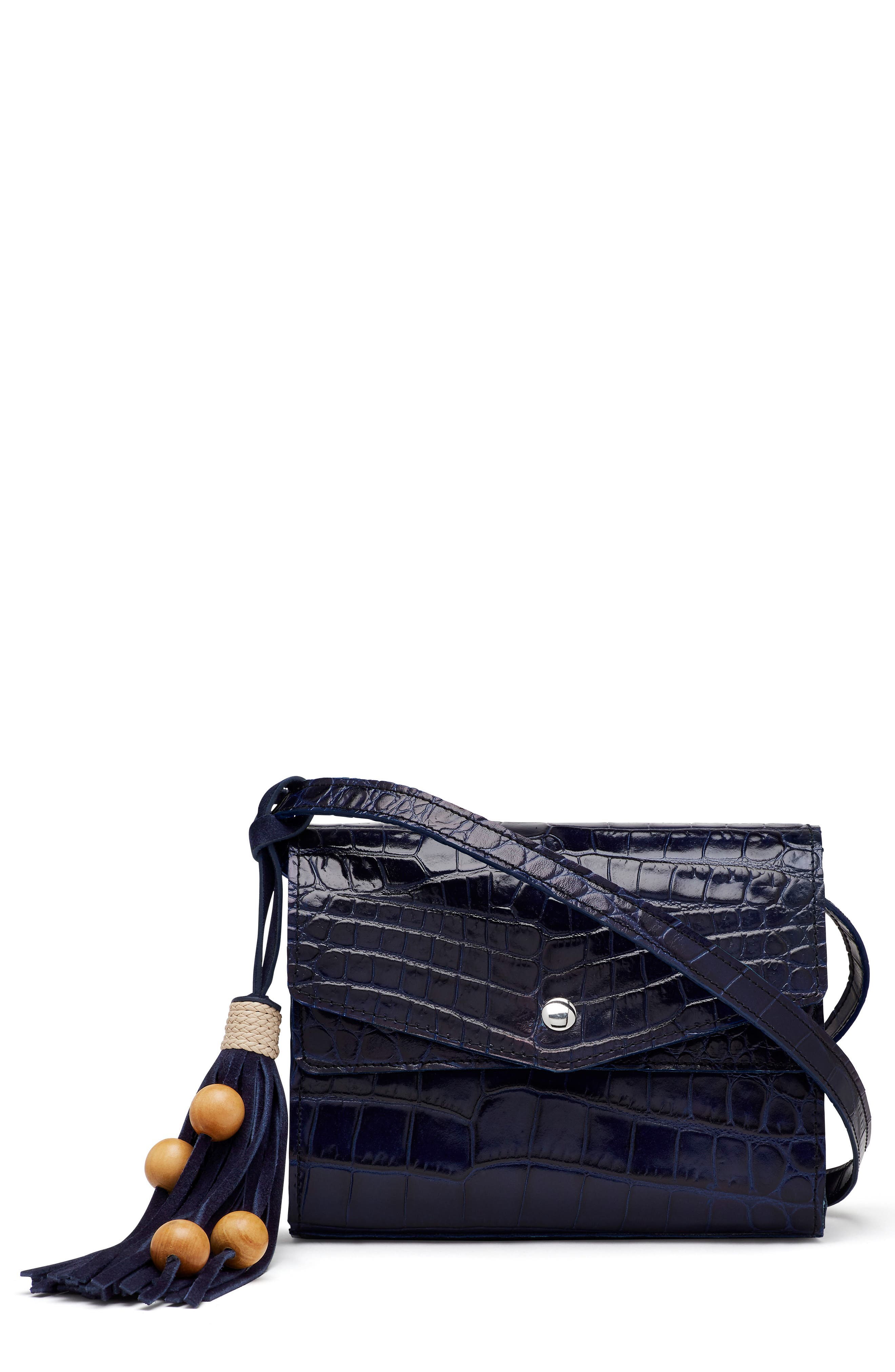 Alternate Image 1 Selected - Elizabeth and James Eloise Field Leather Crossbody Bag