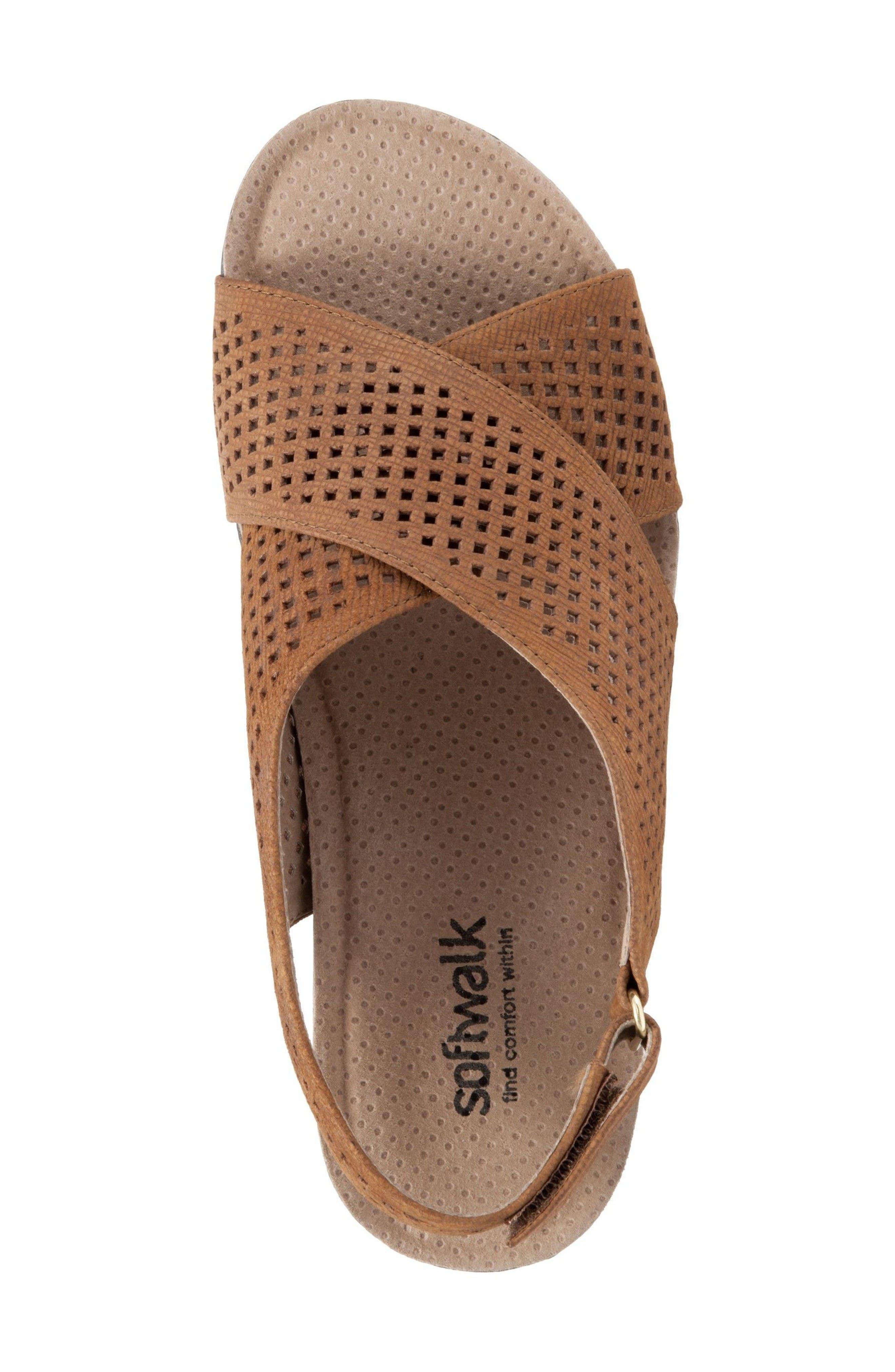 Alternate Image 3  - SoftWalk® Hansford Wedge Sandal (Women)