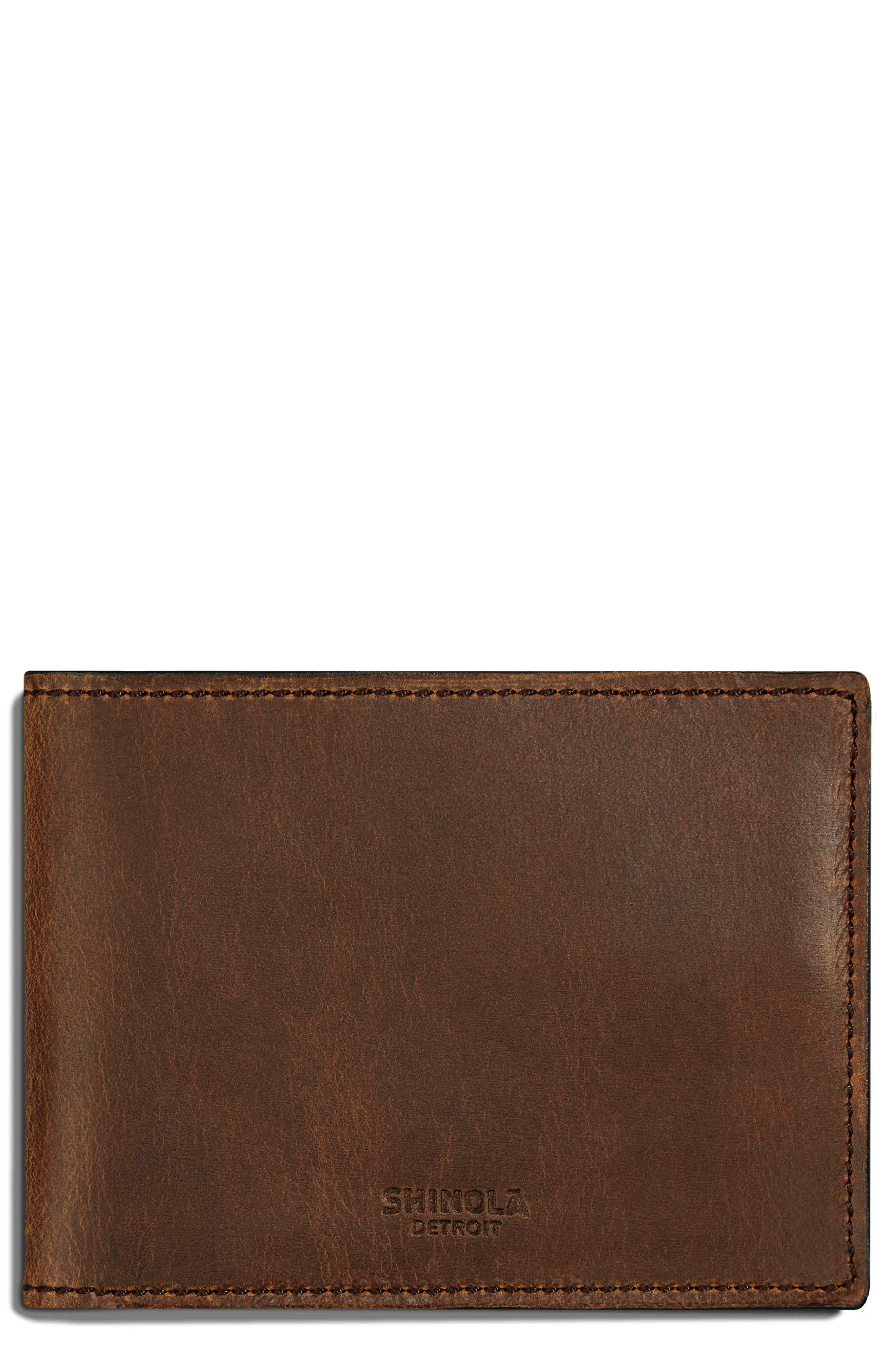SHINOLA Leather Wallet