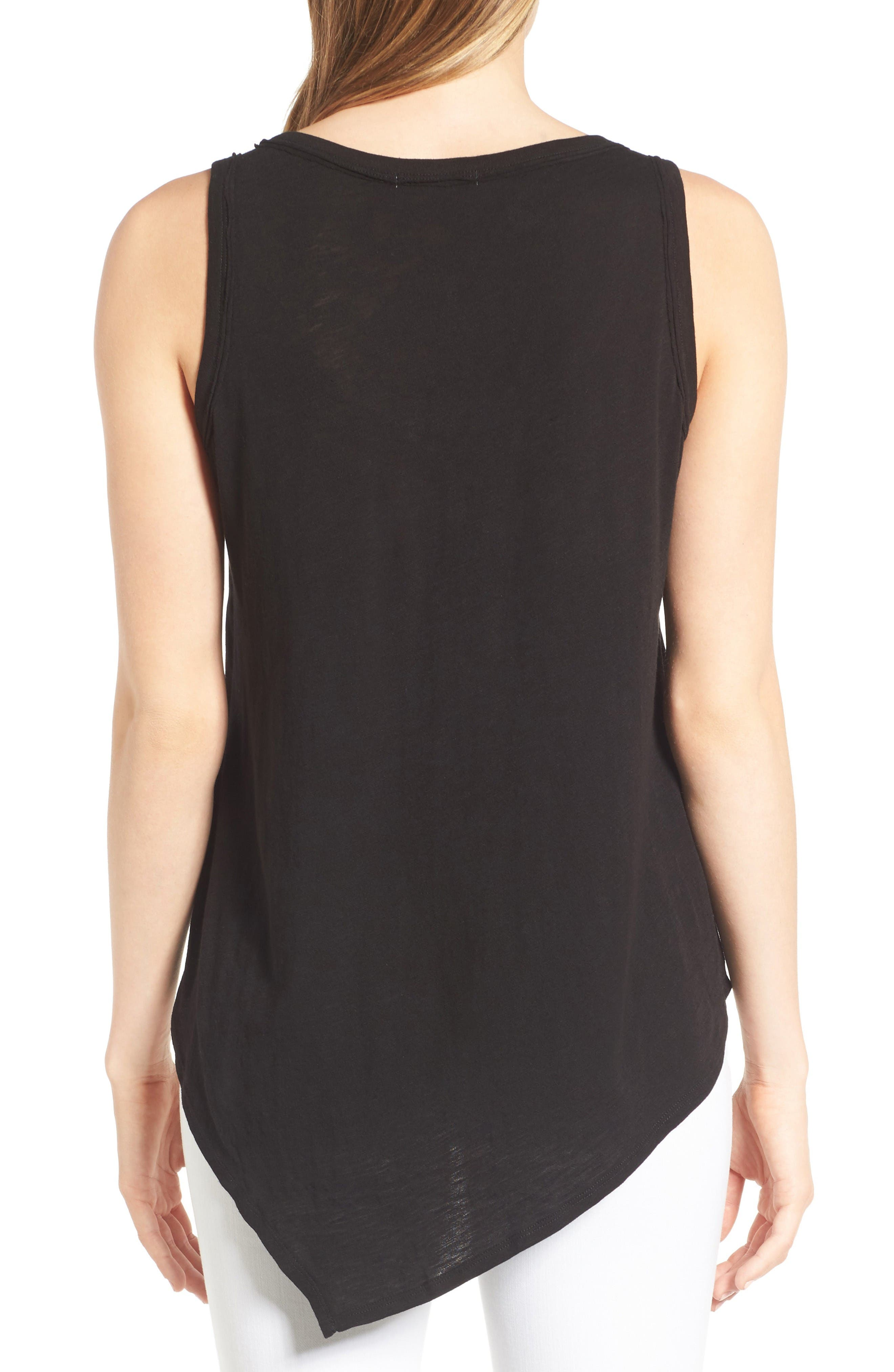 Alternate Image 2  - Wit & Wisdom Knotted Asymmetrical Tank (Nordstrom Exclusive)