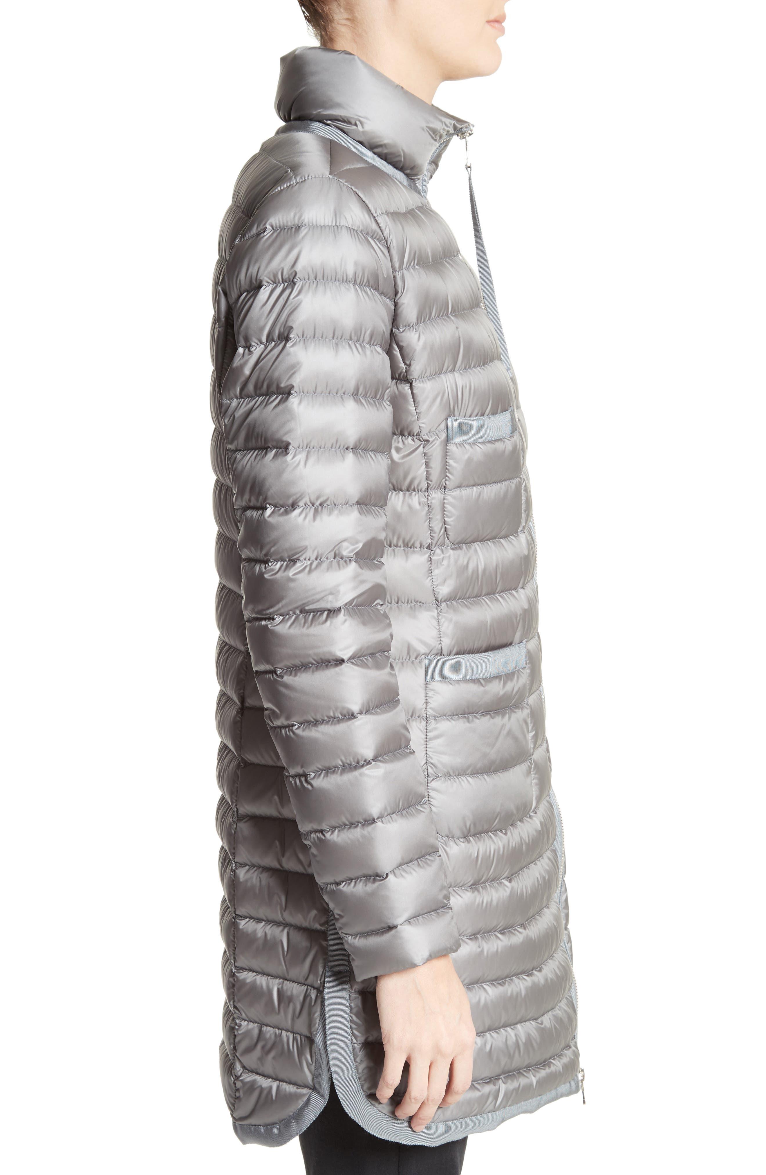 Alternate Image 5  - Moncler Bogue Water Resistant Long Down Jacket