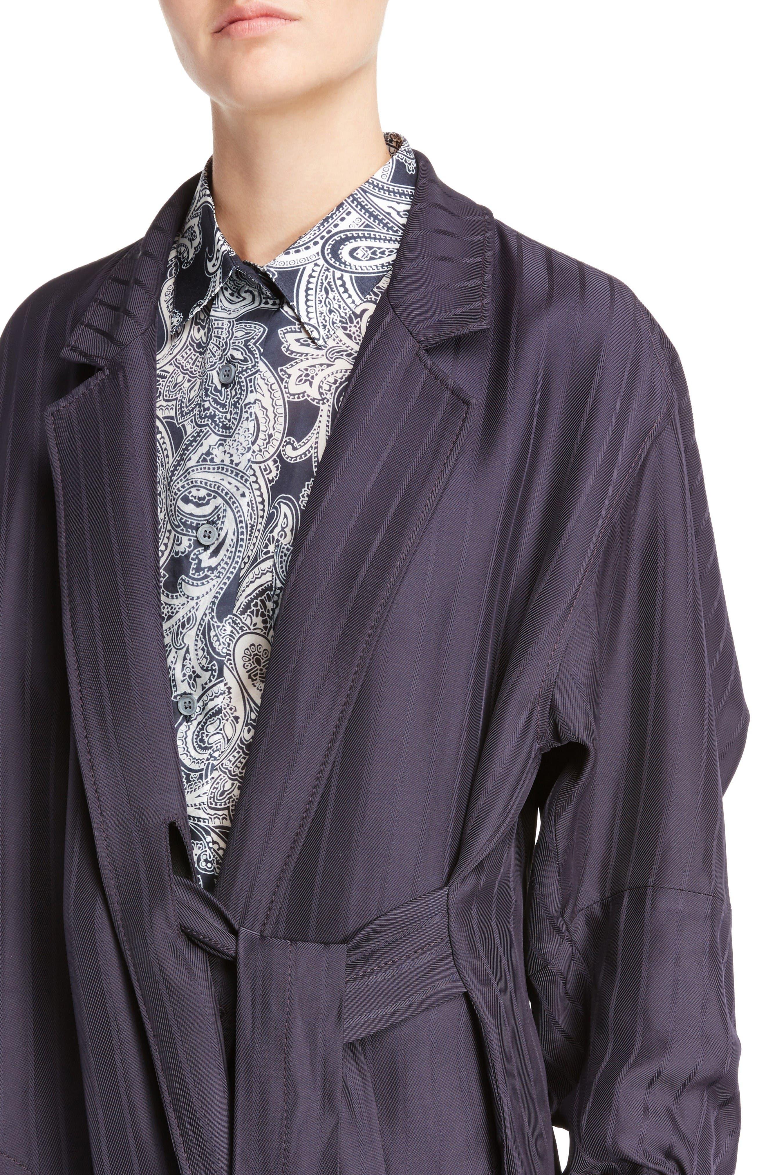 Alternate Image 5  - ACNE Studios Jabin Stripe Jacquard Jacket