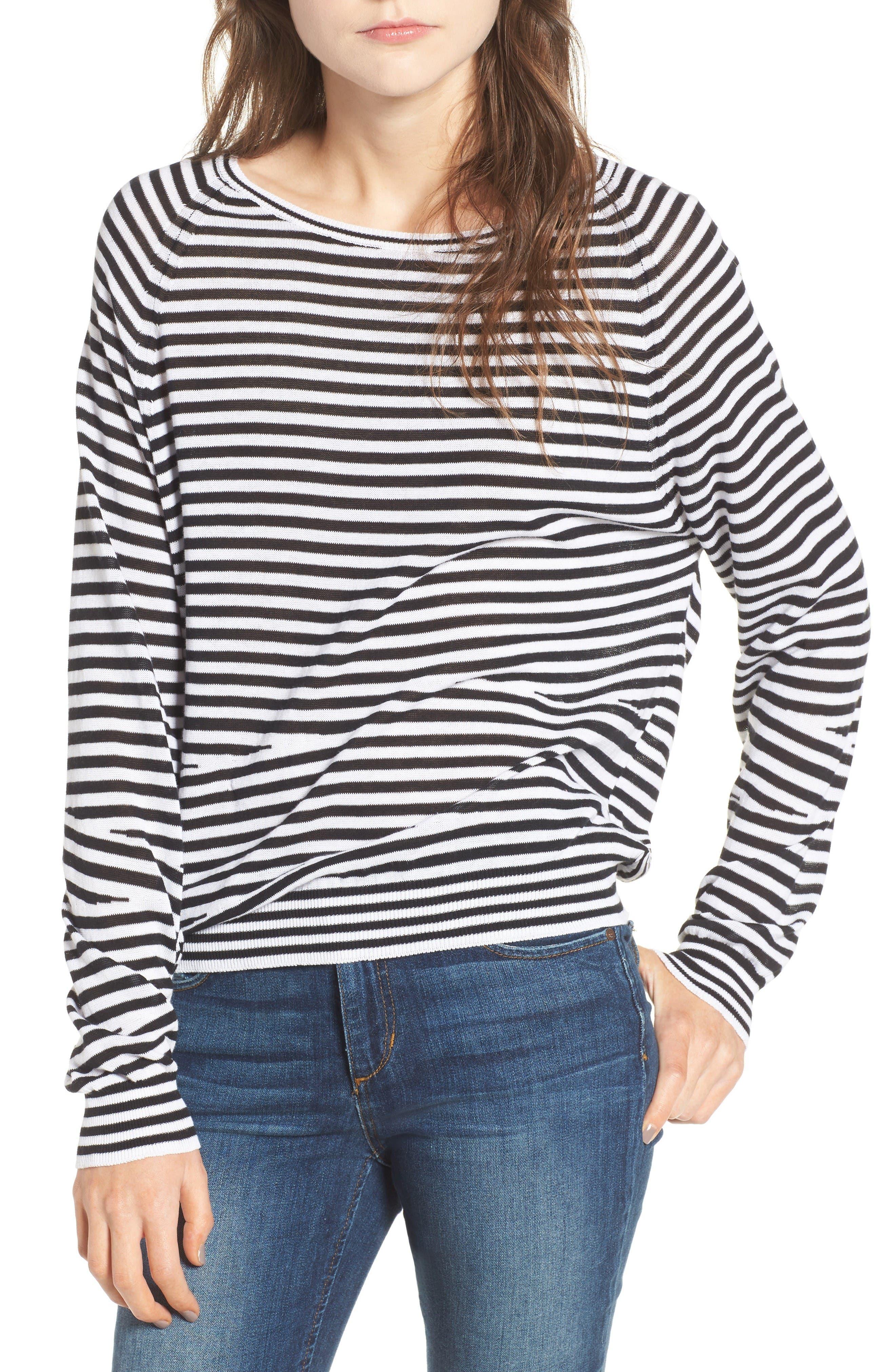 Zadig & Voltaire Camille Stripe Sweater