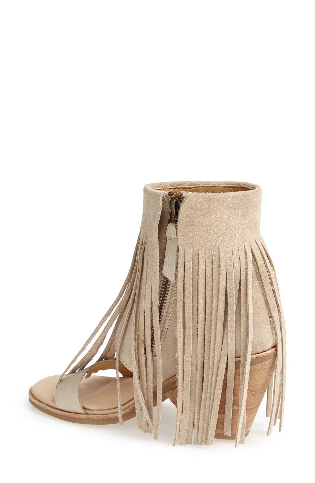 Alternate Image 2  - Koolaburra 'Piaz II' Fringed Boot Cuff Sandal