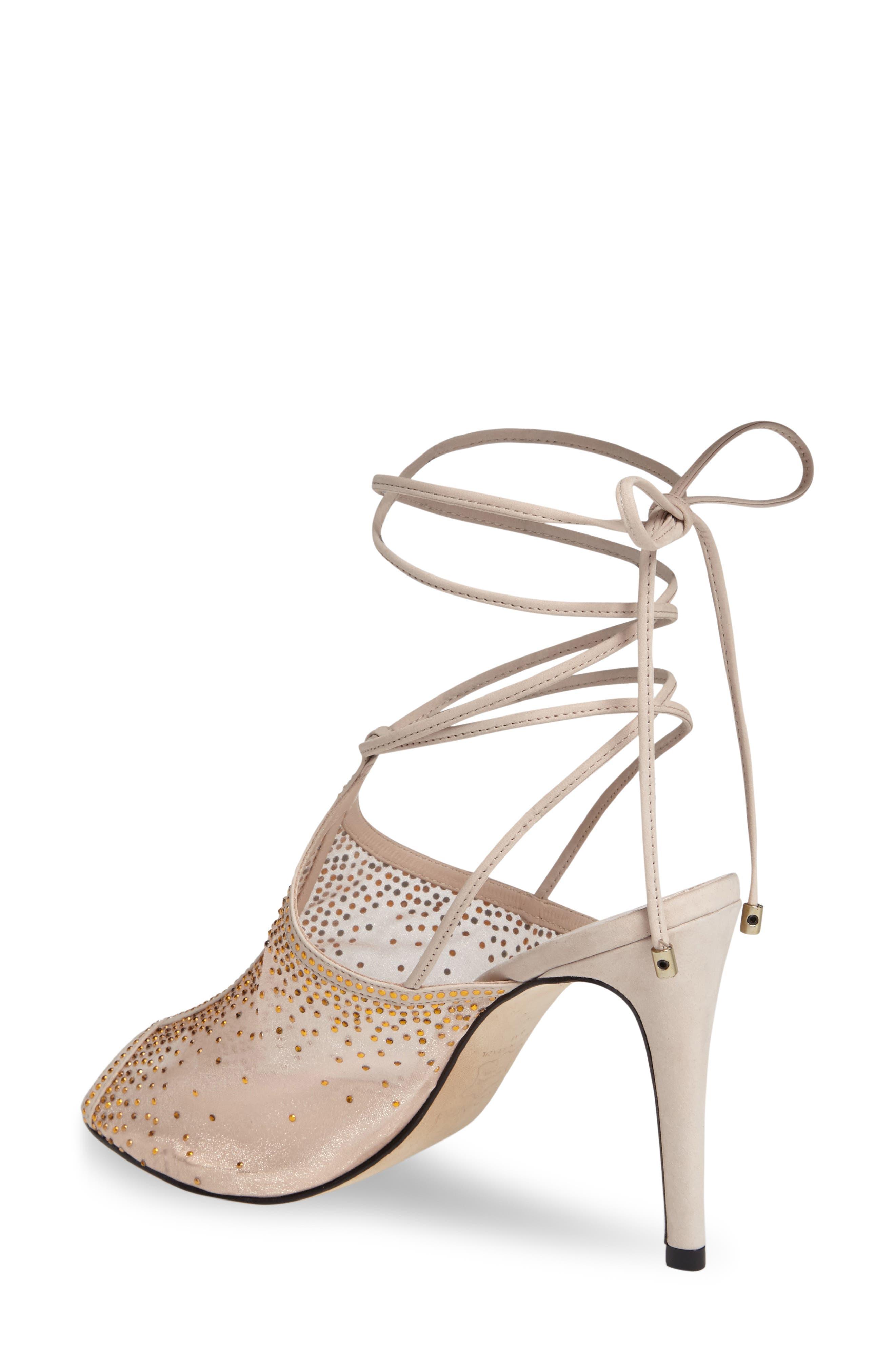 Alternate Image 2  - Klub Nico Margeaux Embellished Wraparound Sandal (Women)