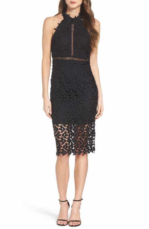Black Cocktail & Party Dresses: Sequin, Lace, Mesh & More ...