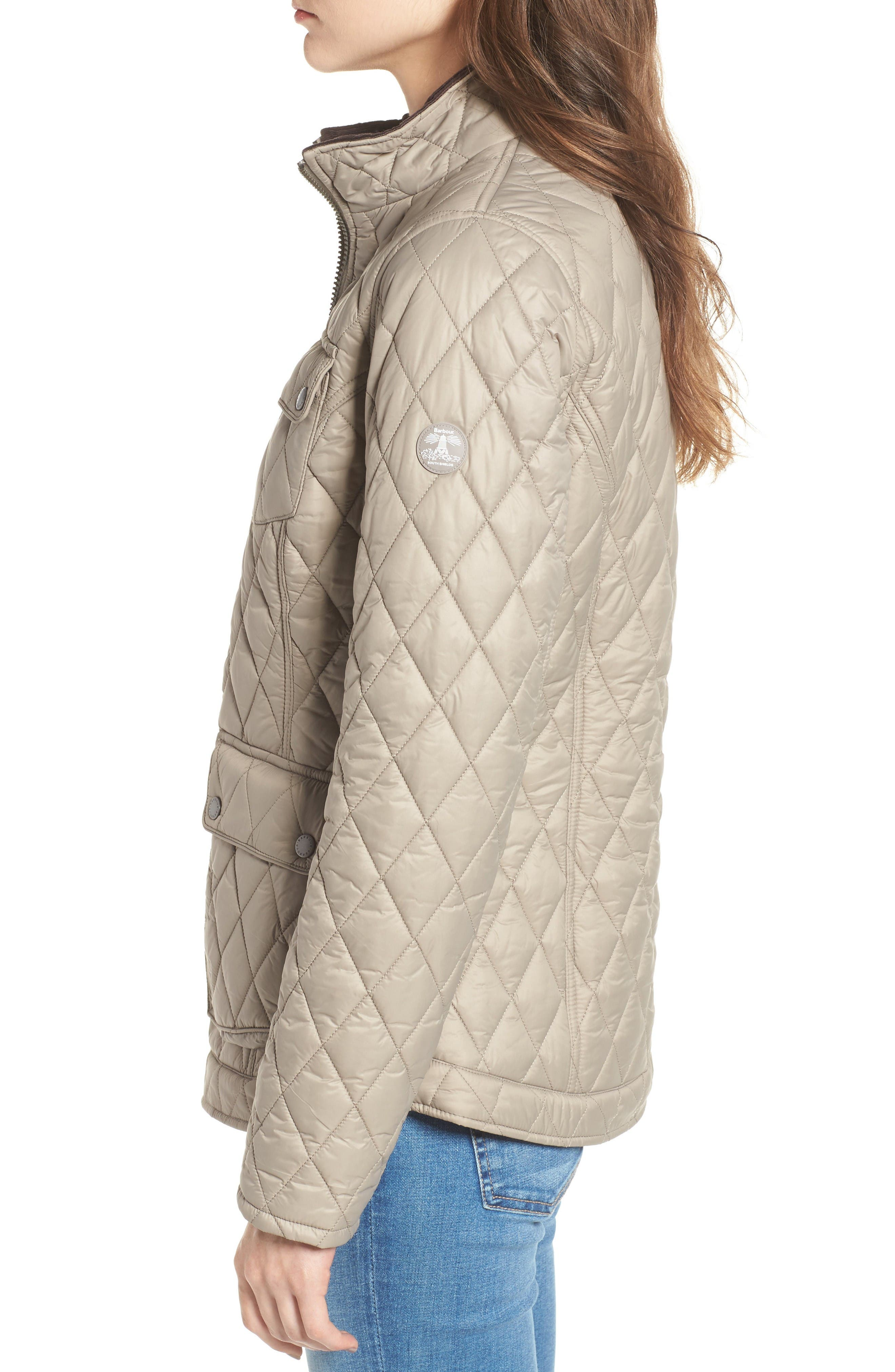 Alternate Image 3  - Barbour Dolostone Quilted Jacket