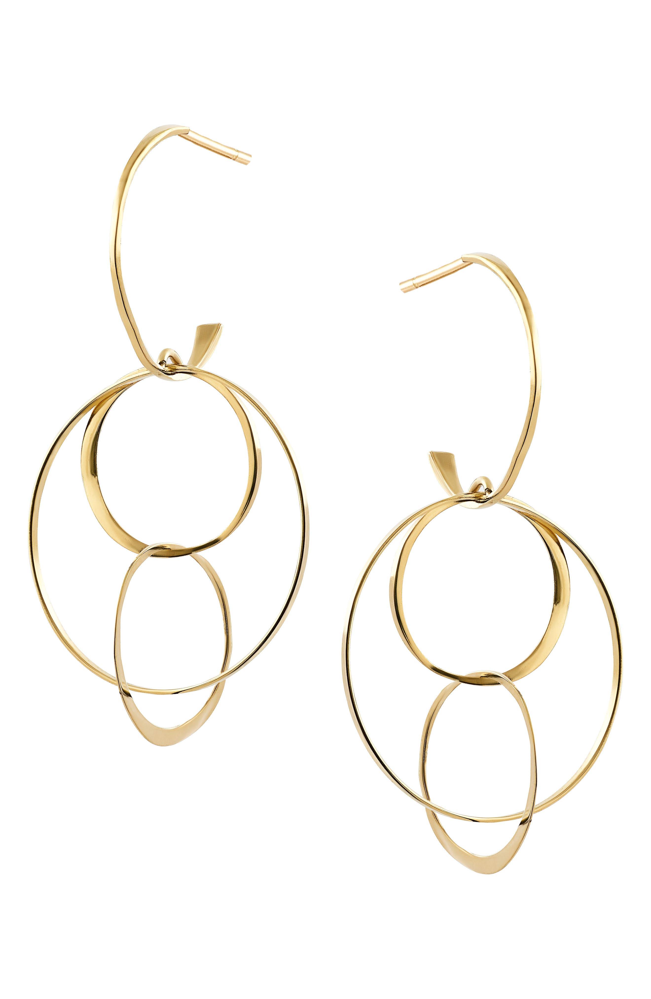 Alternate Image 1 Selected - Lana Jewelry Openwork Drop Earrings