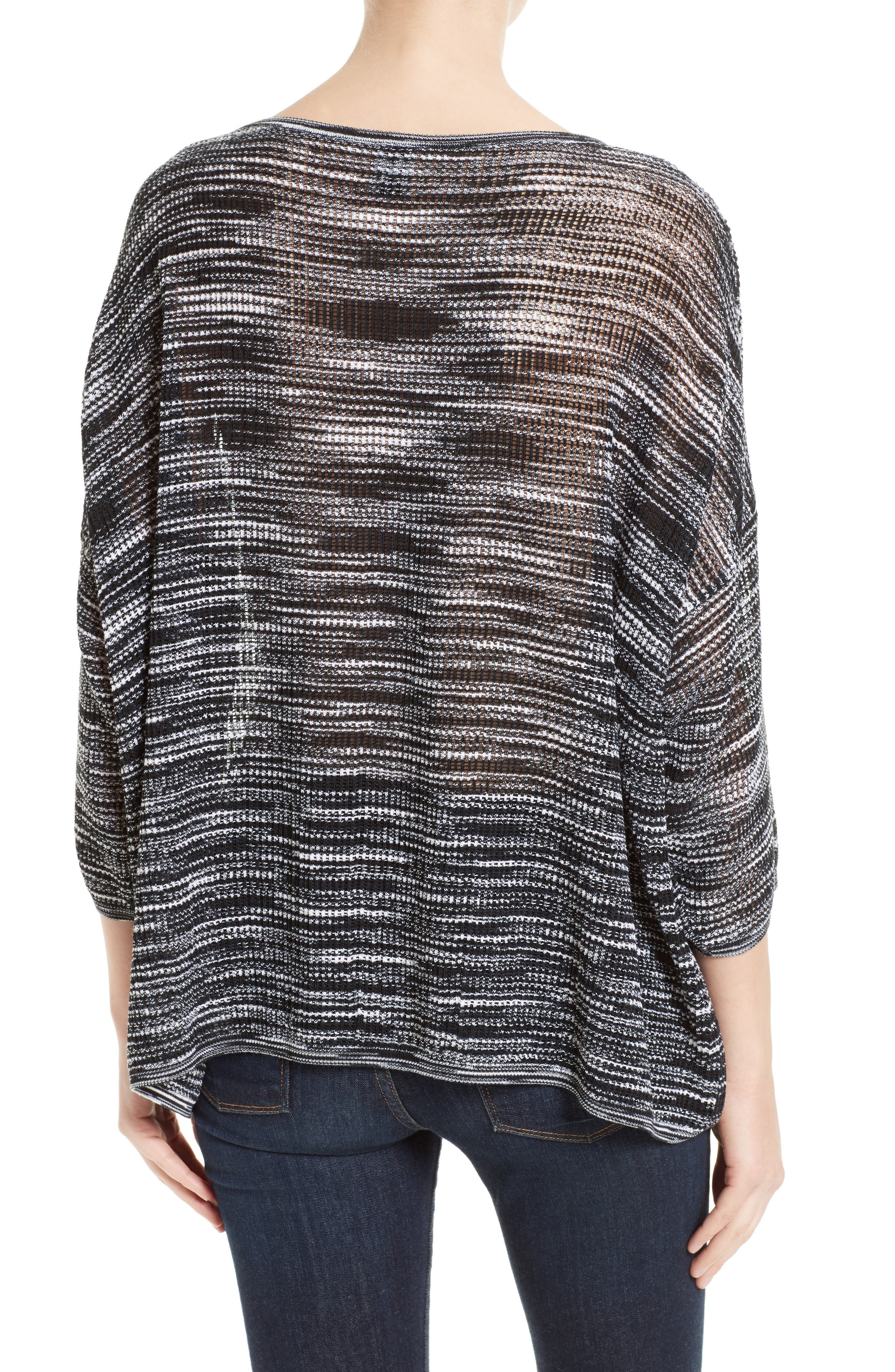 Alternate Image 2  - M Missoni Space Dyed Ripple Top