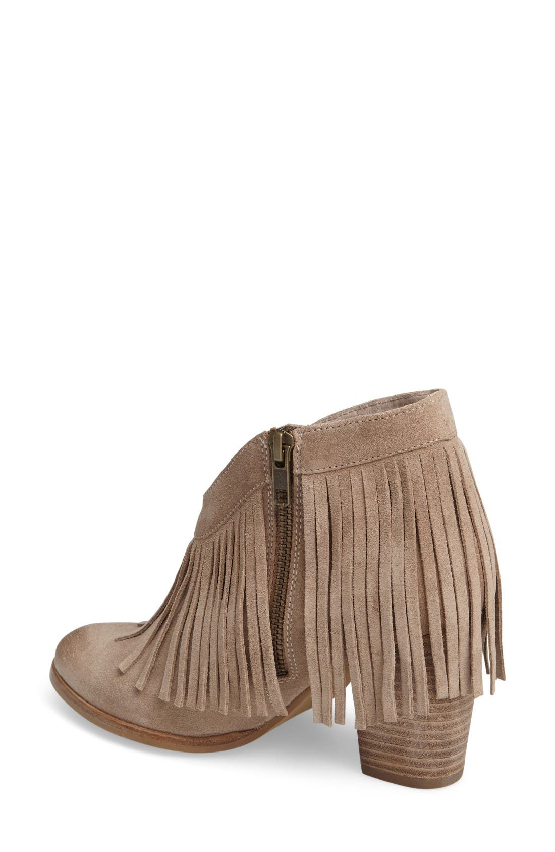 Alternate Image 2  - Ariat Unbridled Layla Fringed Bootie (Women)