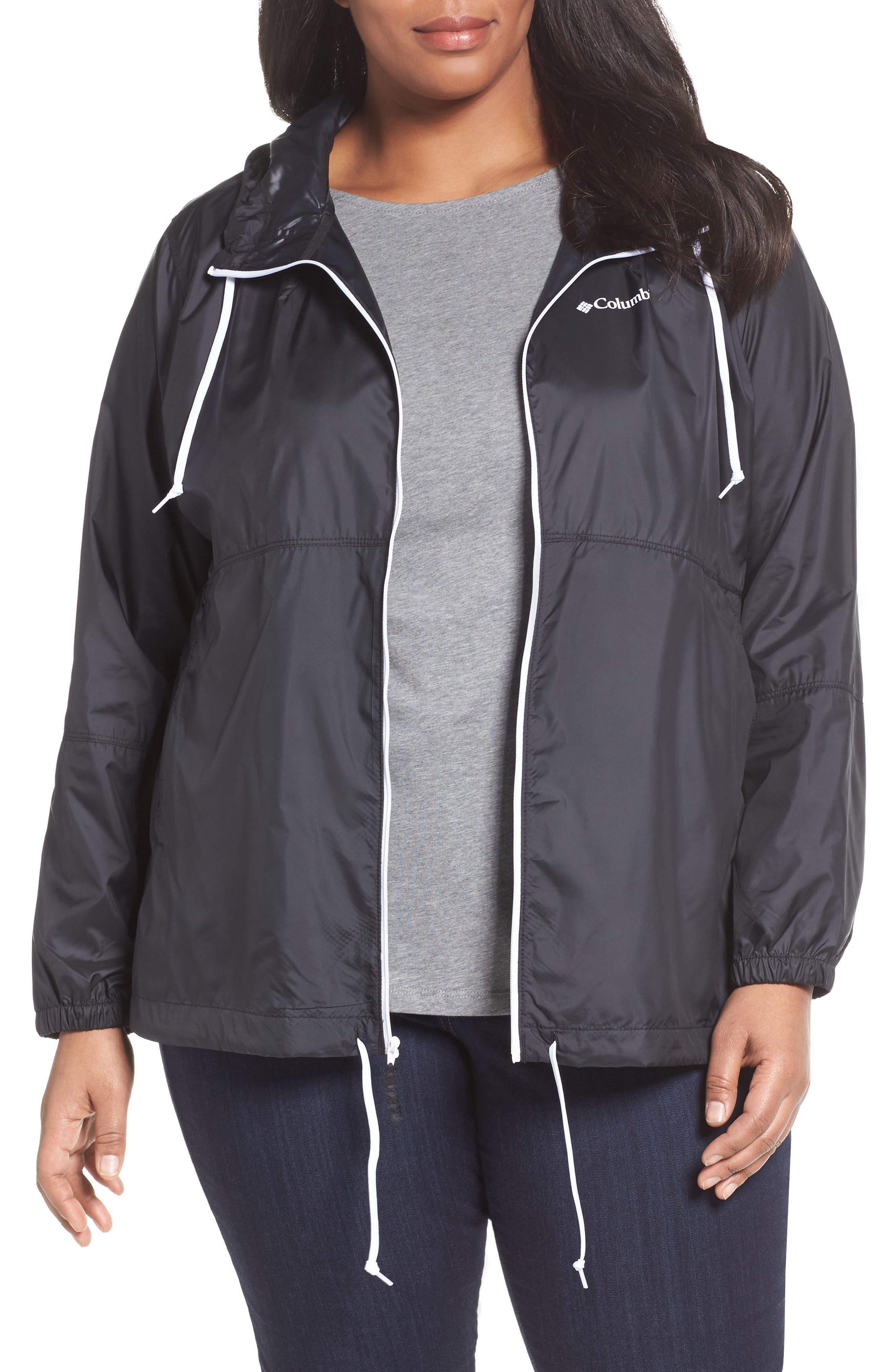 Alternate Image 1 Selected - Columbia 'Flash Forward™' Windbreaker Jacket (Plus Size)