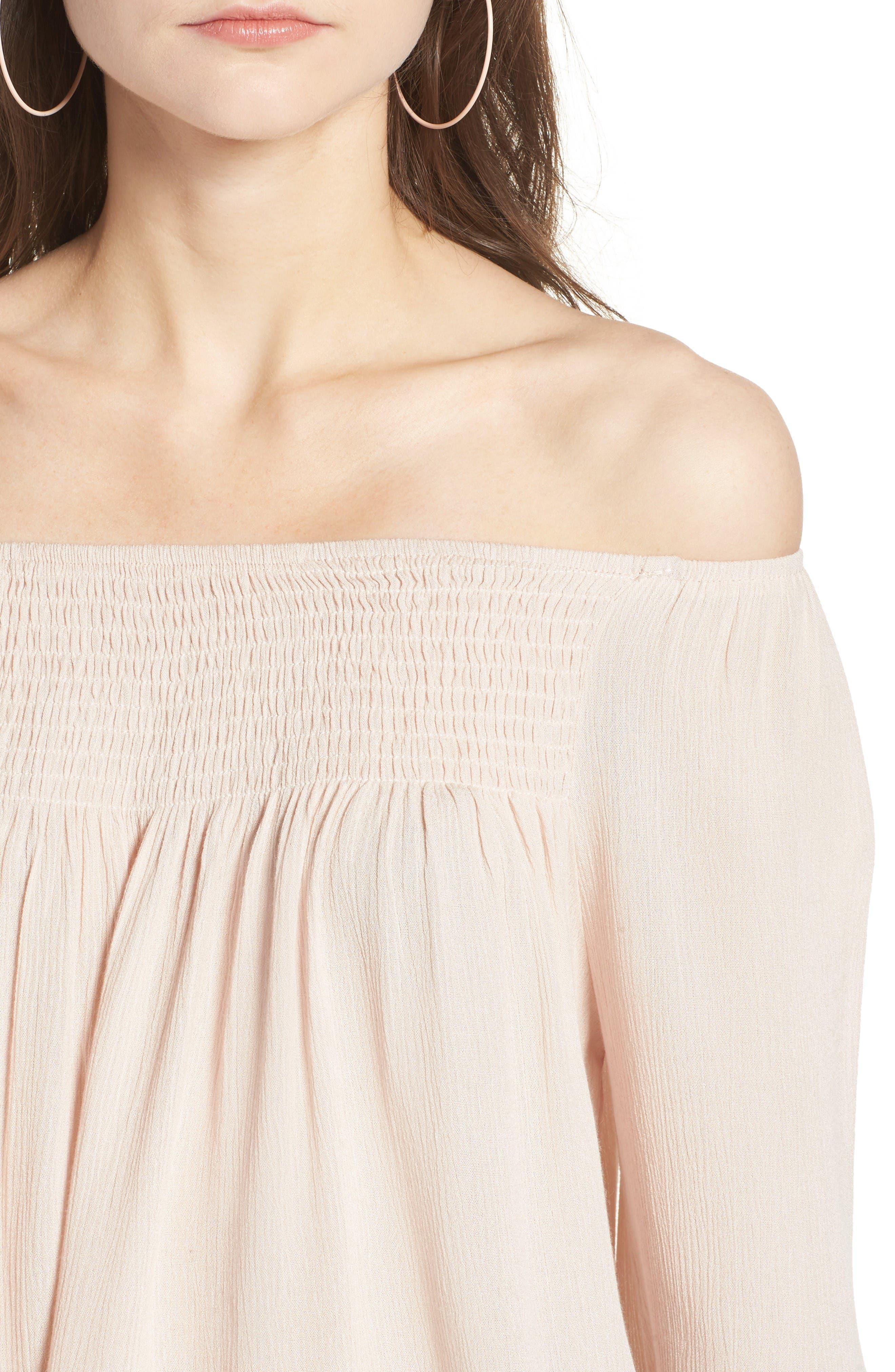 Alternate Image 5  - Raga Anne Off the Shoulder Blouse