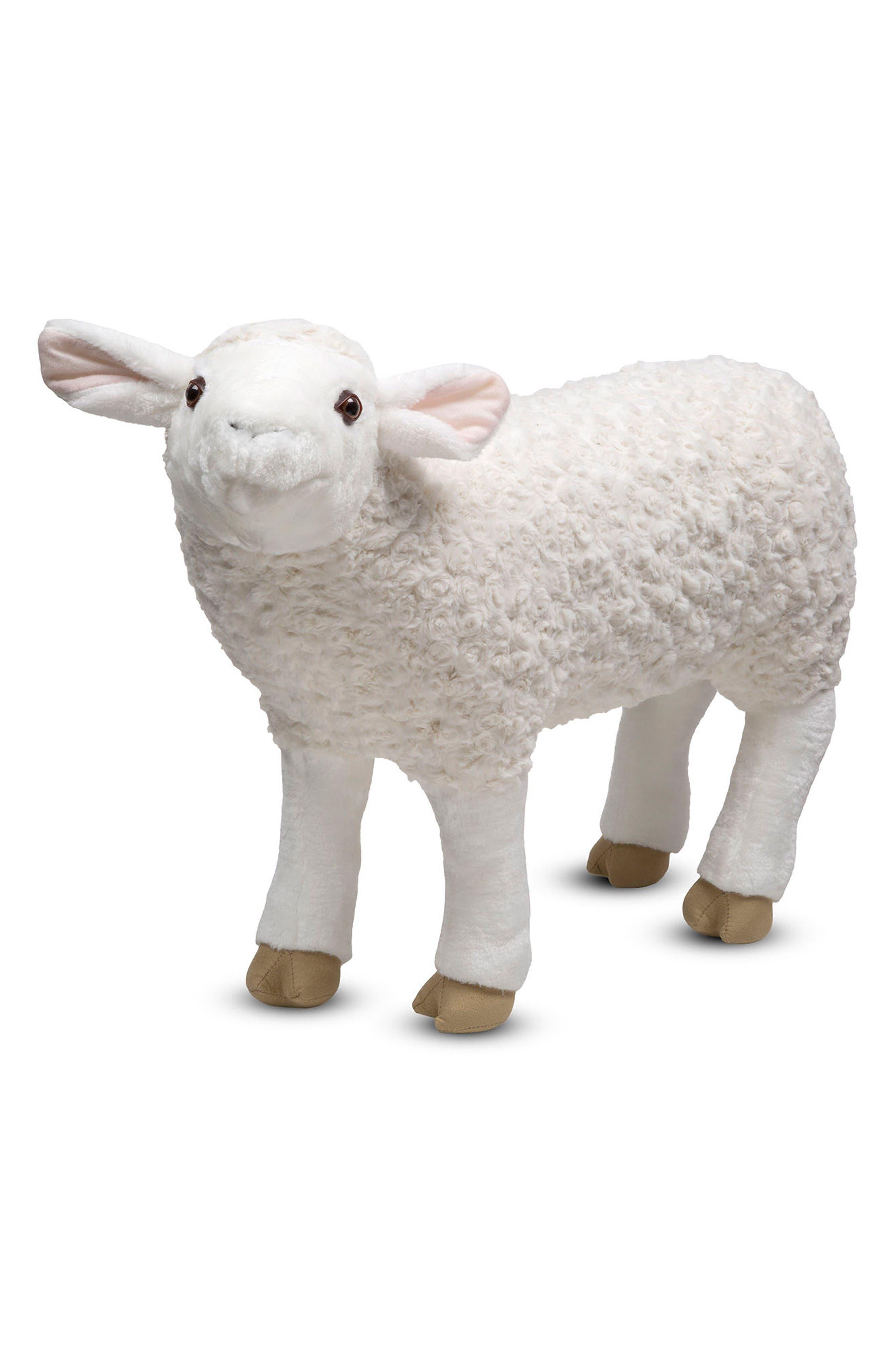 Giant Sheep Plush,                         Main,                         color, Multi