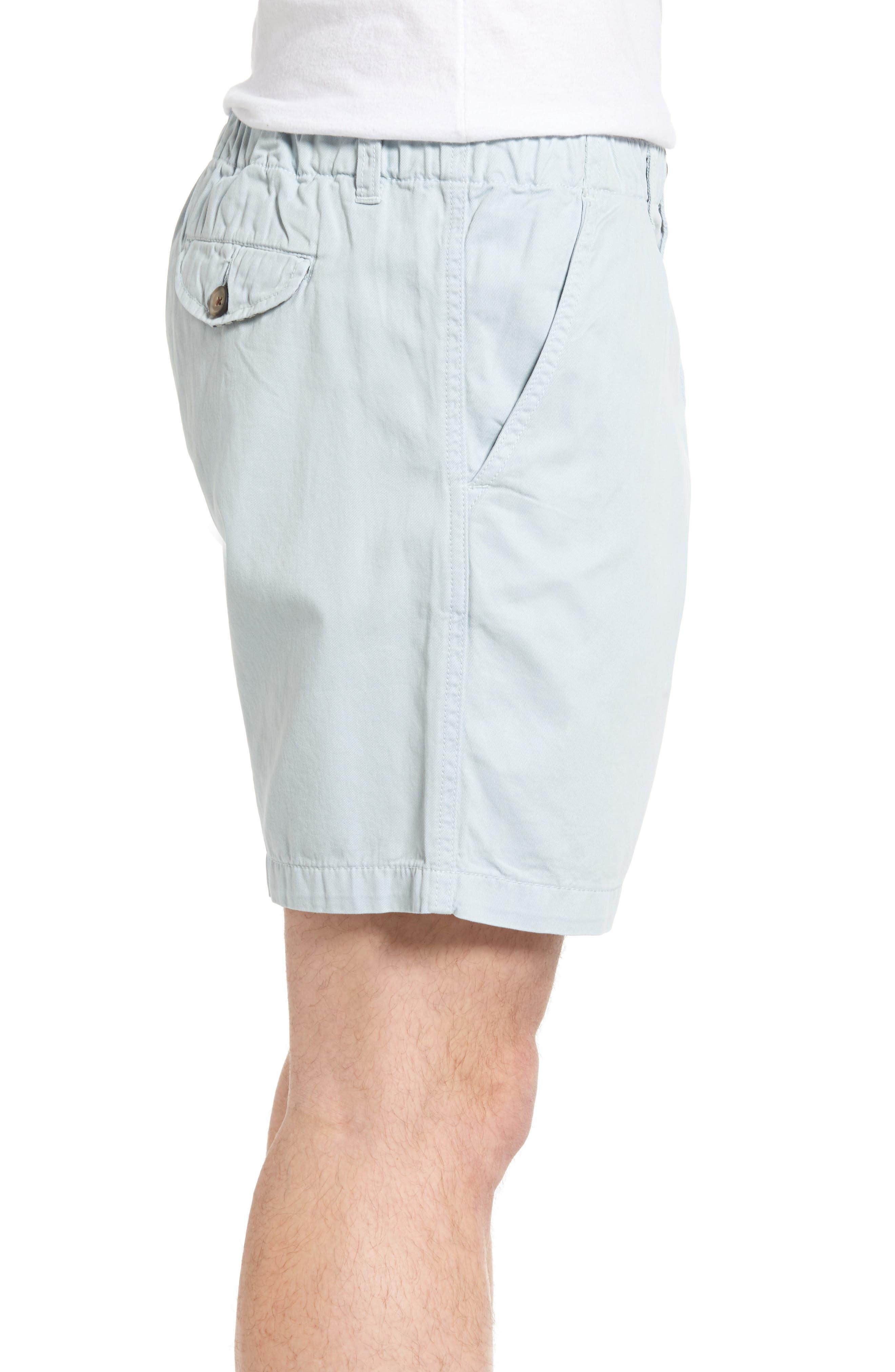 Washed Shorts,                             Alternate thumbnail 3, color,                             Sky