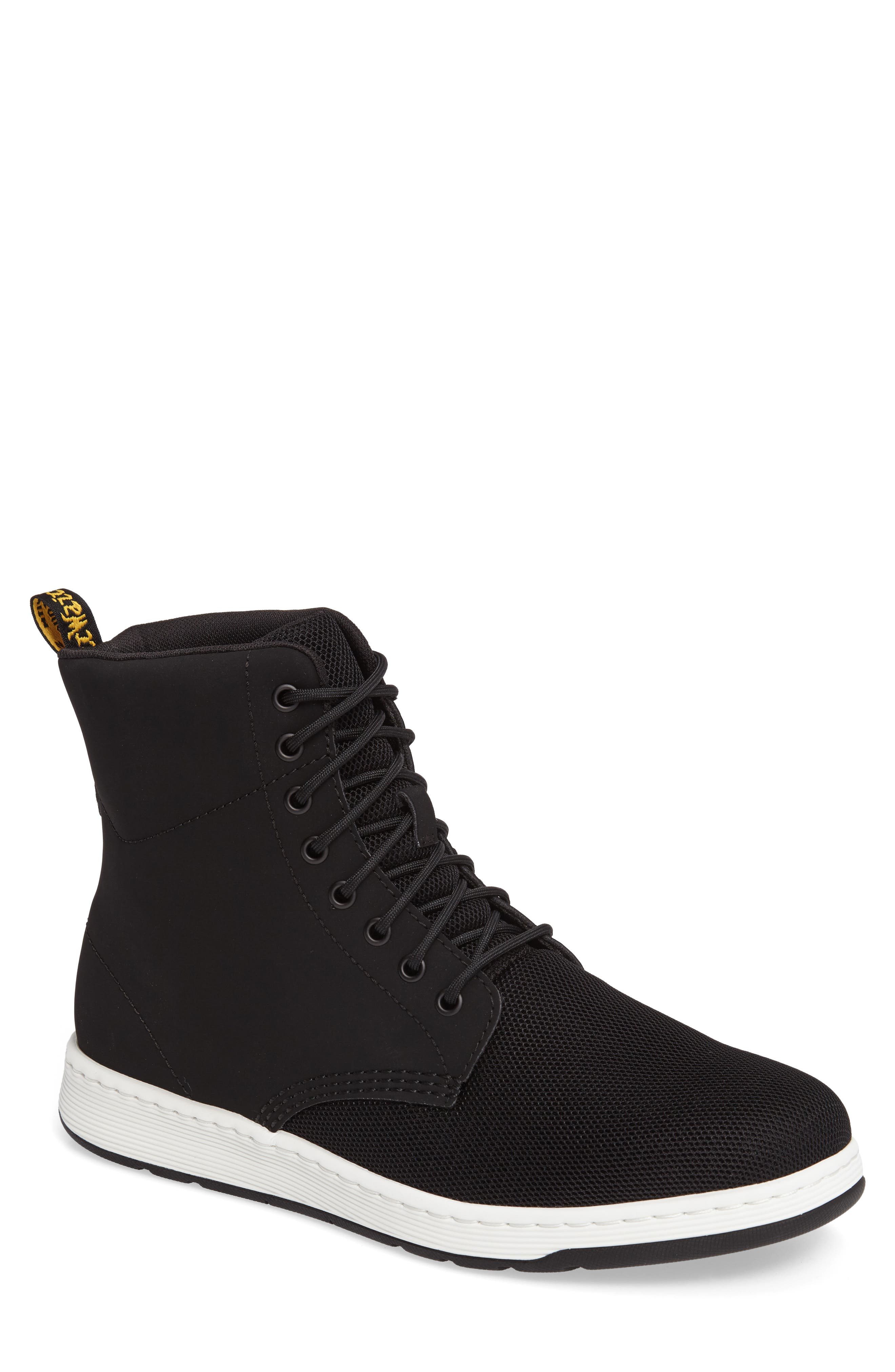 Rigal Plain Toe Boot,                         Main,                         color, Black Leather