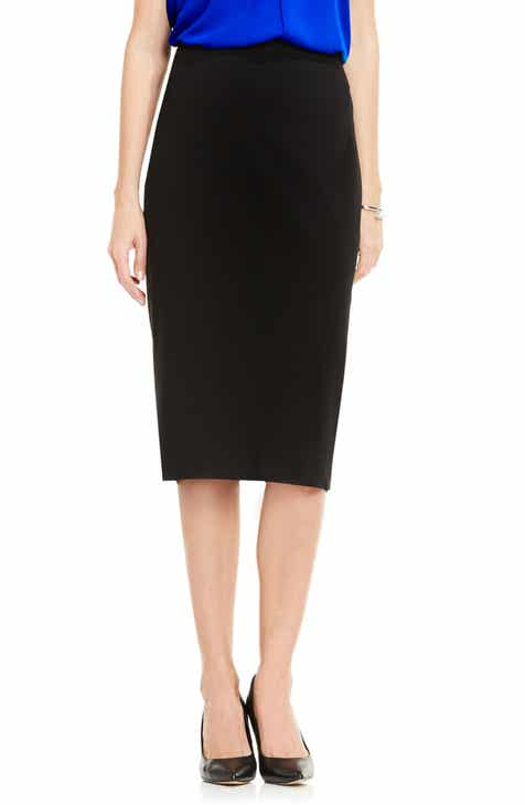 087a3e1441 Vince Camuto Pull-On Pencil Skirt (Regular   Petite)
